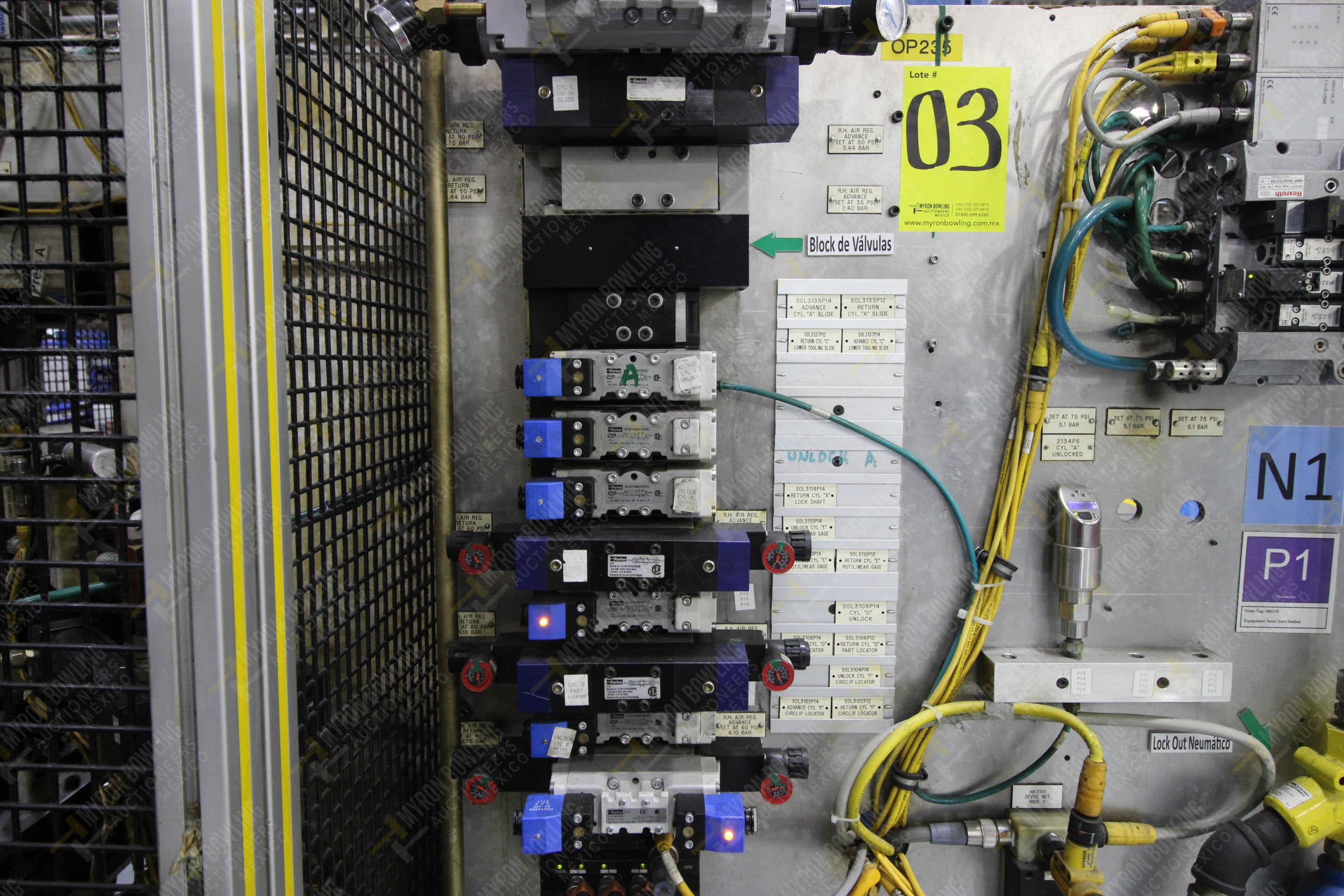Estación semiautomáticapara operación 235 de ensamble de candado - Image 10 of 22