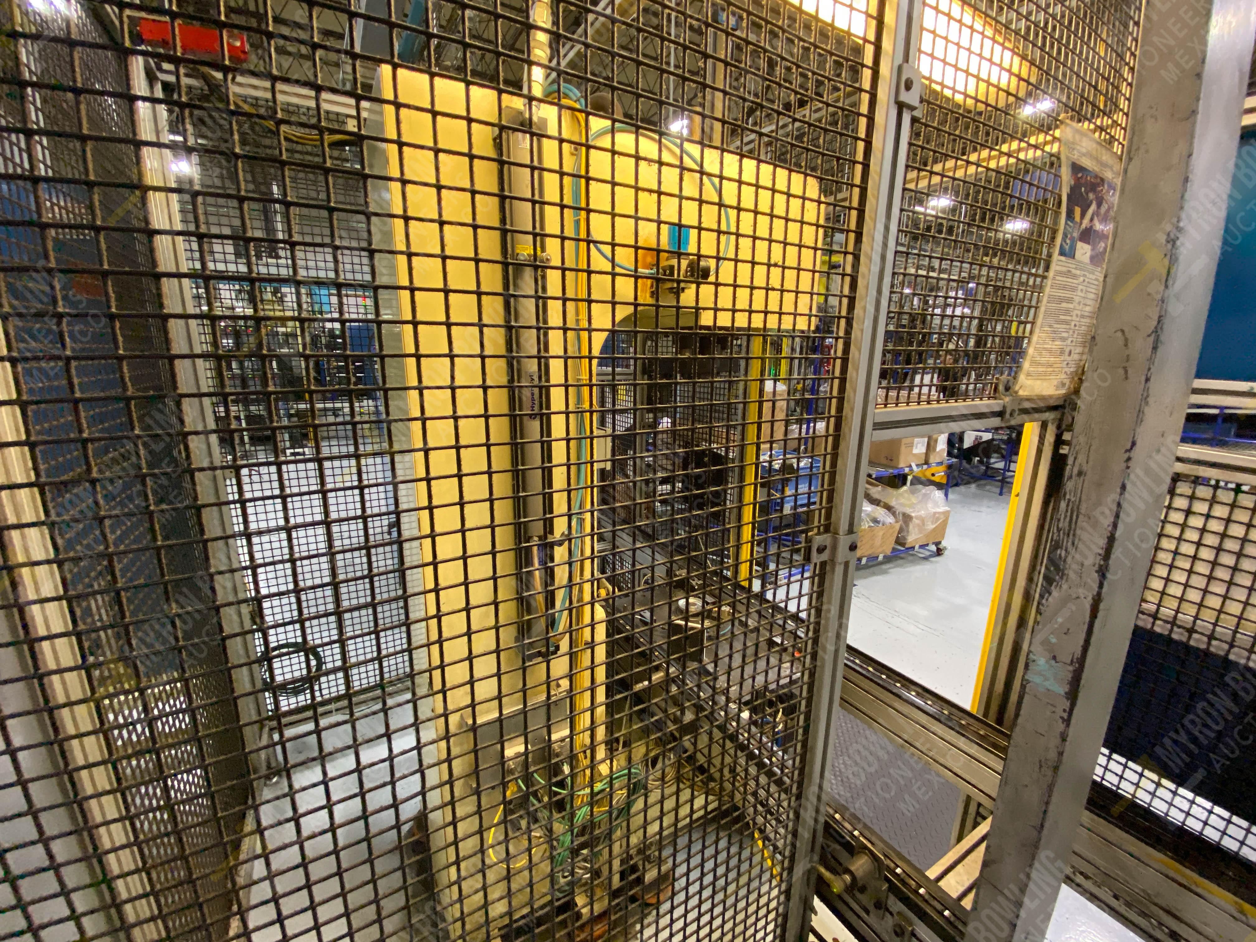 Estación manual para operación 383, contiene: Prensa marca PROMESS en estructura de placa de acero - Image 5 of 27