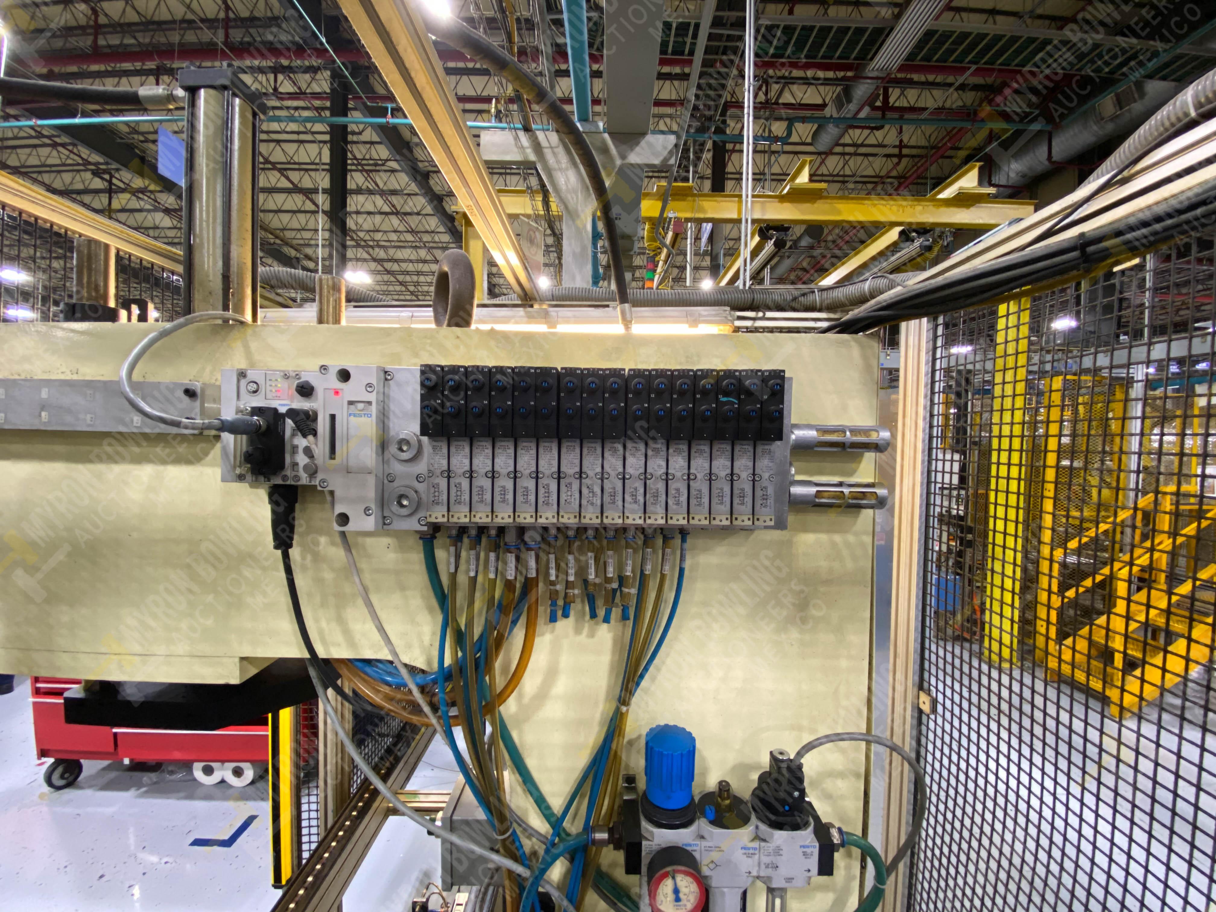 Estación manual para operación 383, contiene: Prensa marca PROMESS en estructura de placa de acero - Image 18 of 27