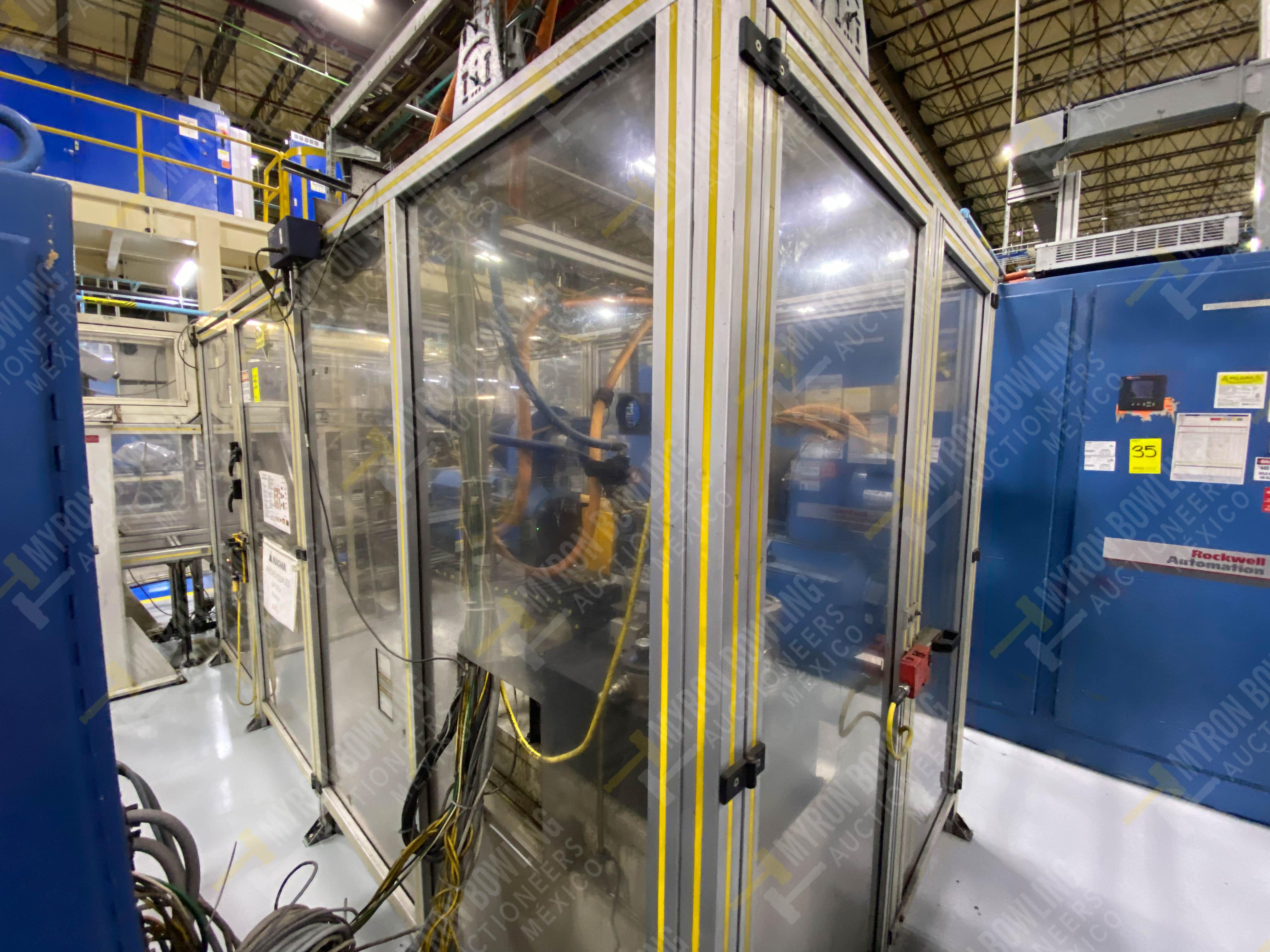 Estación semiautomática para operación 445, contiene: Máquina dinamómetro con sistema de revolución - Image 5 of 25