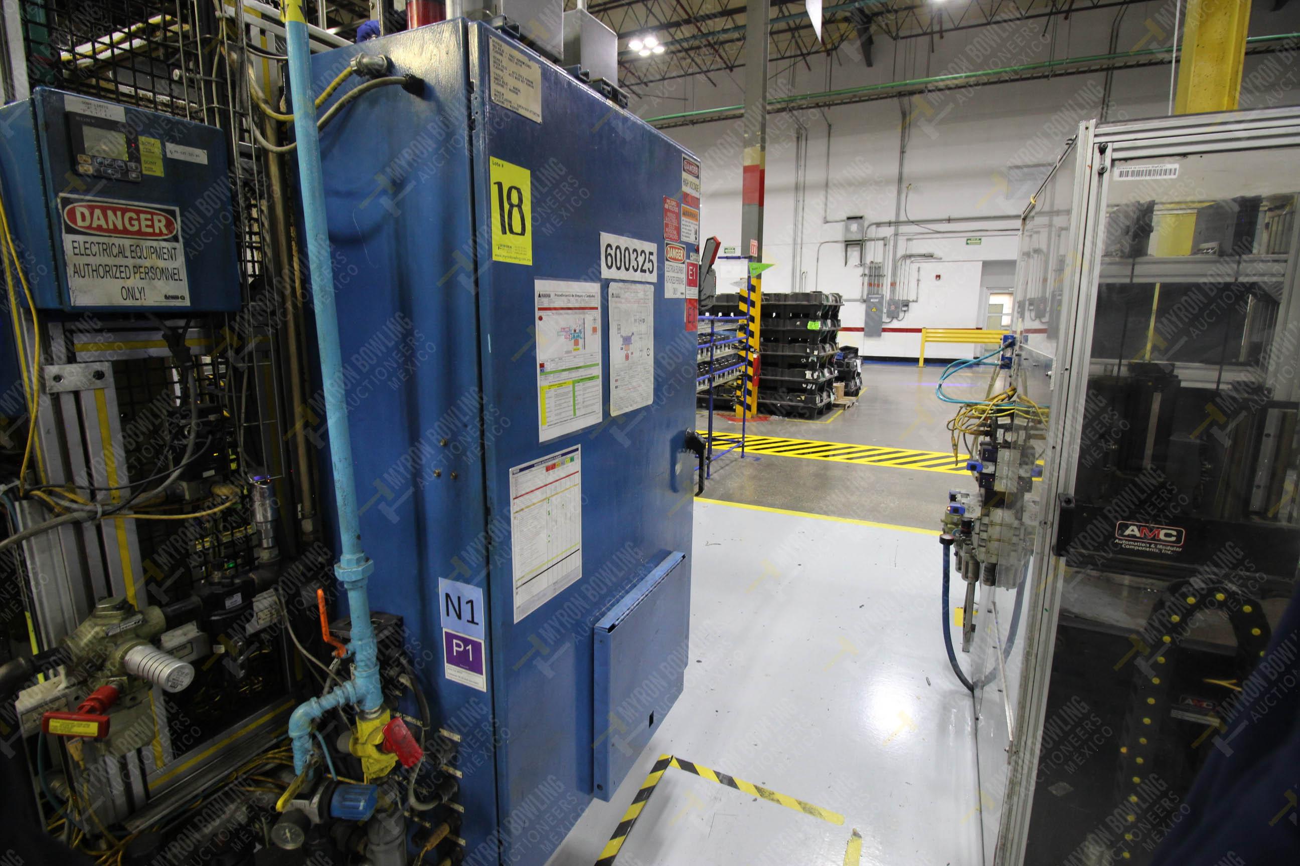 Estación semiautomática para operación 325, contiene: Prensa con dos cilindros marca TOX - Image 18 of 24