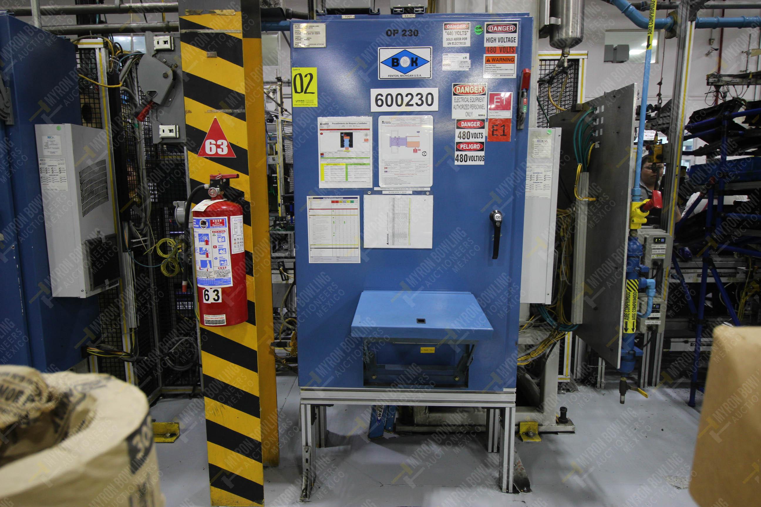 Estación automática para operación 230, para medición de gap - Image 30 of 36