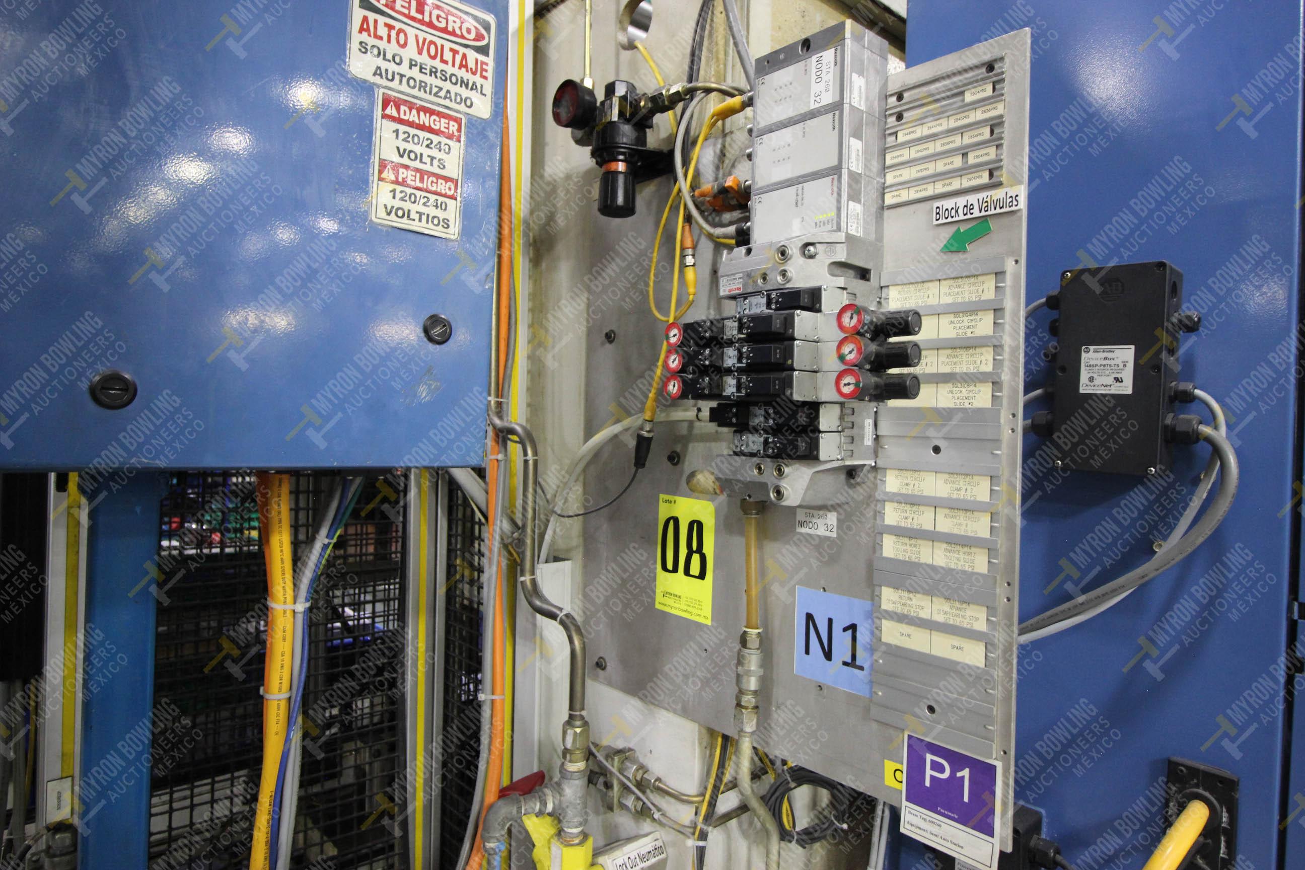 Estación semiautomática para operación 260 de ensamble - Image 12 of 20