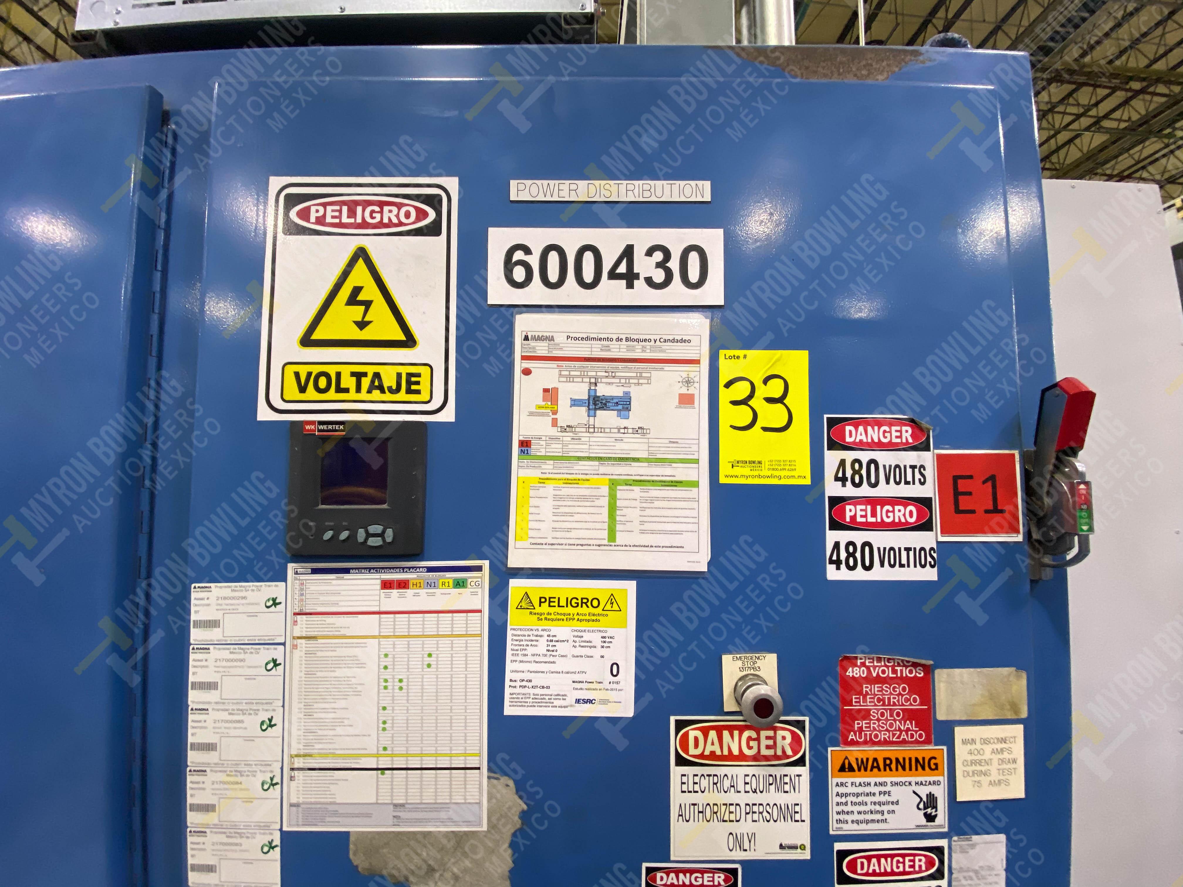 Estación semiautomática para operación 430, contiene: Máquina dinamómetro con sistema de revolución - Image 25 of 32