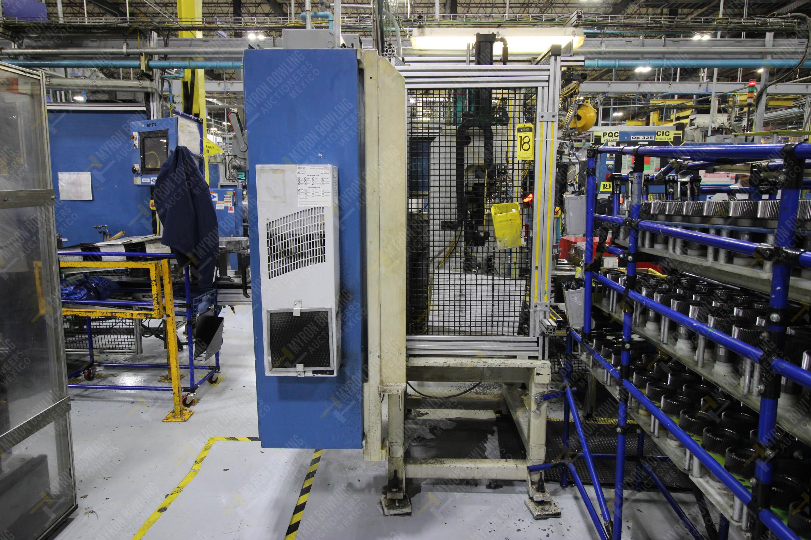 Estación semiautomática para operación 325, contiene: Prensa con dos cilindros marca TOX - Image 12 of 24