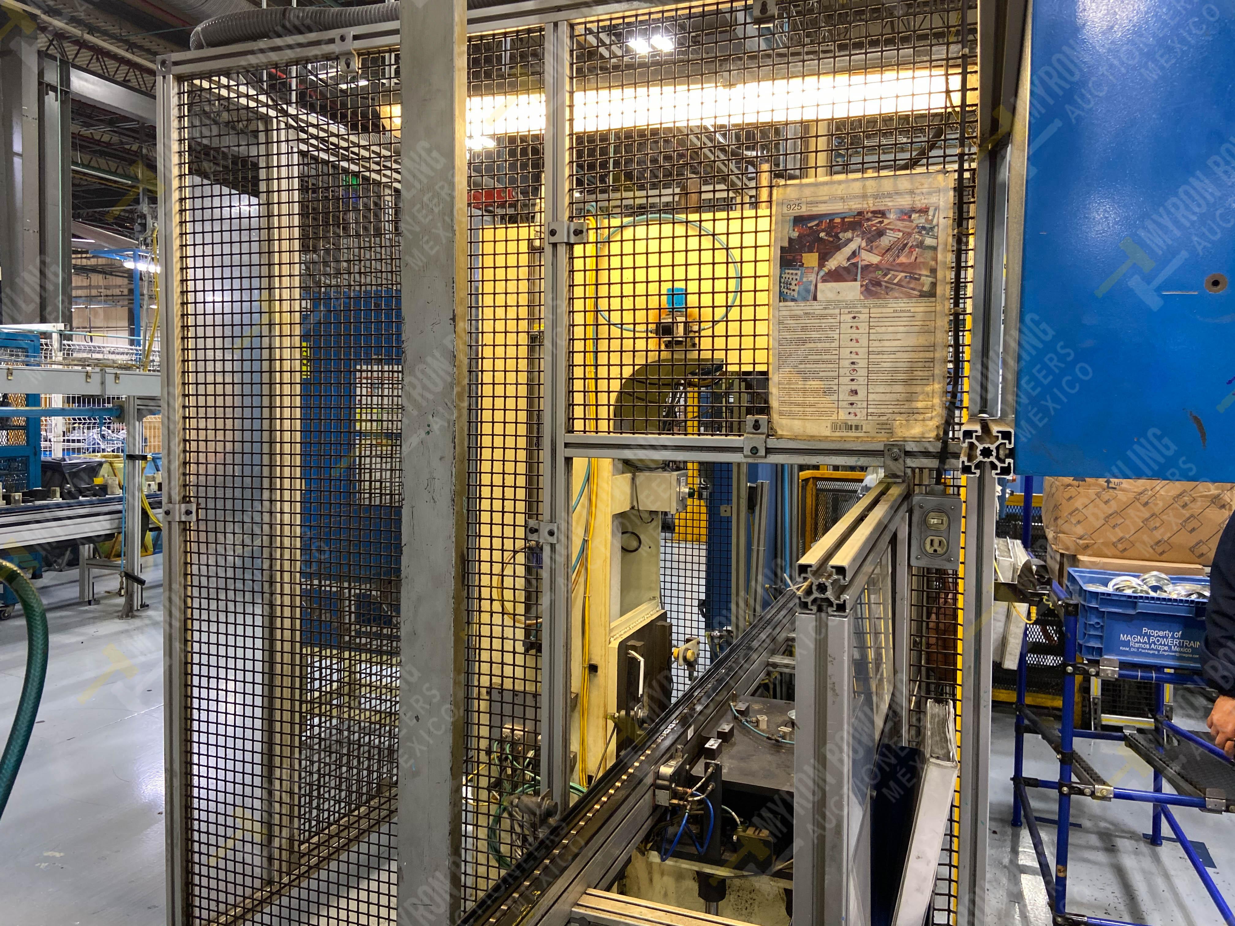 Estación manual para operación 383, contiene: Prensa marca PROMESS en estructura de placa de acero - Image 4 of 27