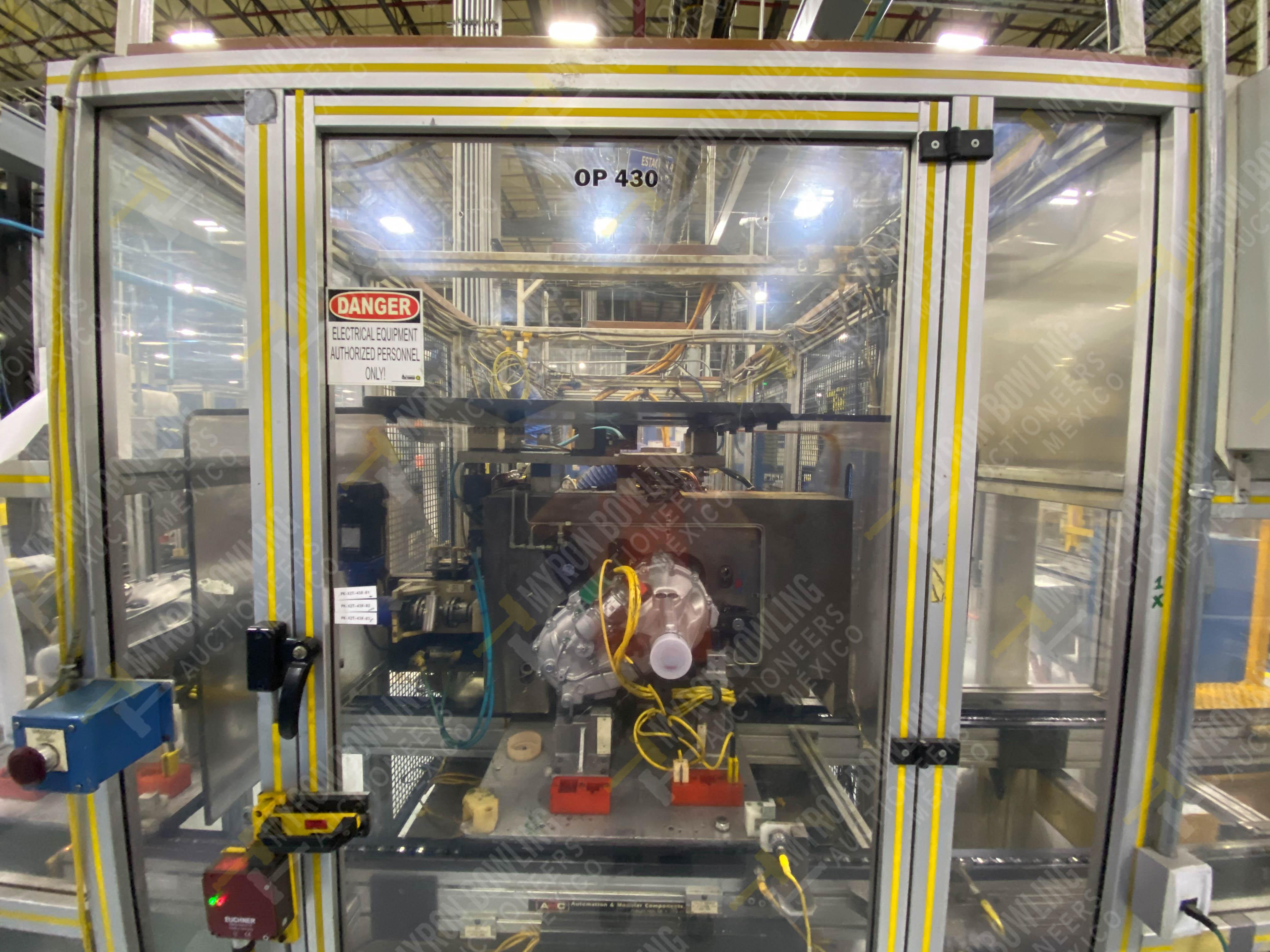 Estación semiautomática para operación 430, contiene: Máquina dinamómetro con sistema de revolución - Image 2 of 32