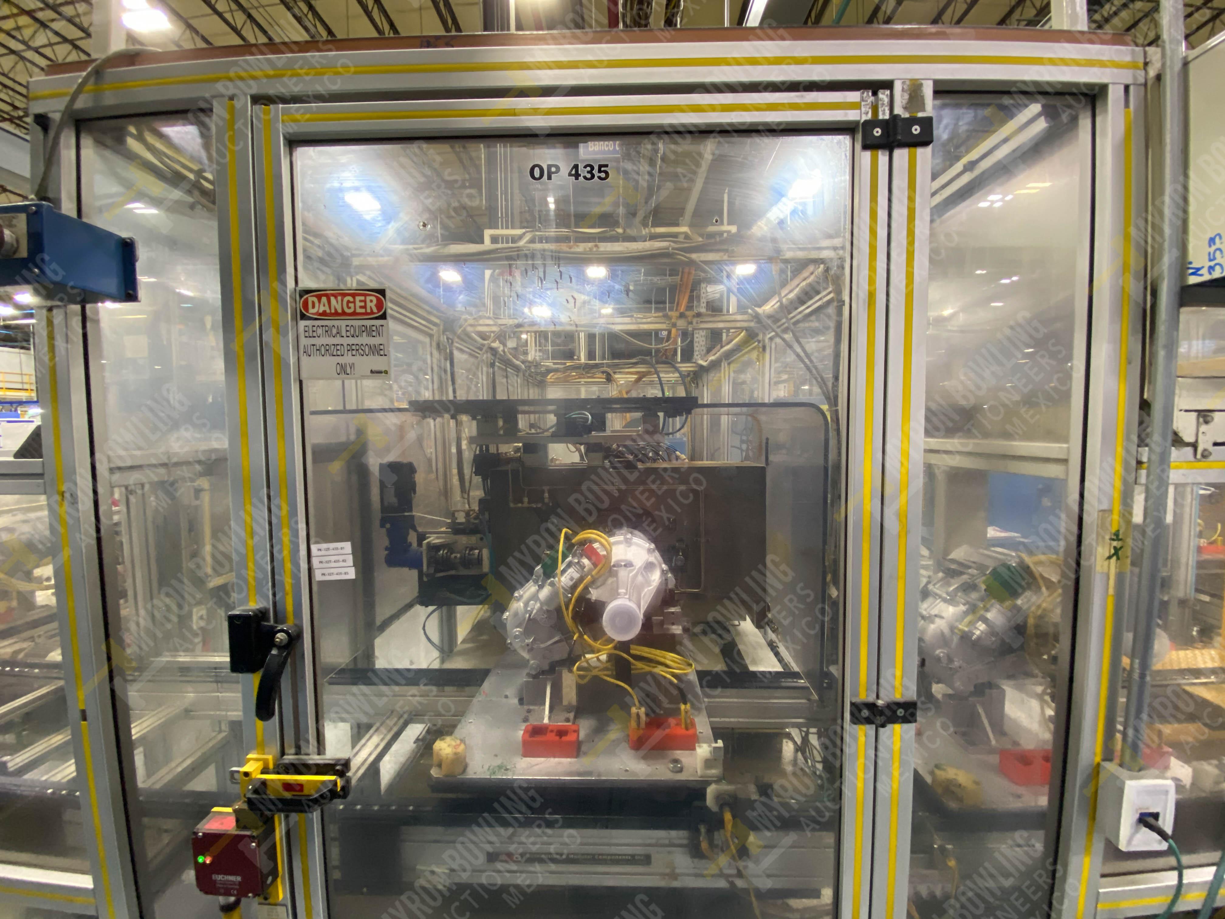 Estación semiautomática para operación 435, contiene: Máquina dinamómetro con sistema de revolución - Image 16 of 28