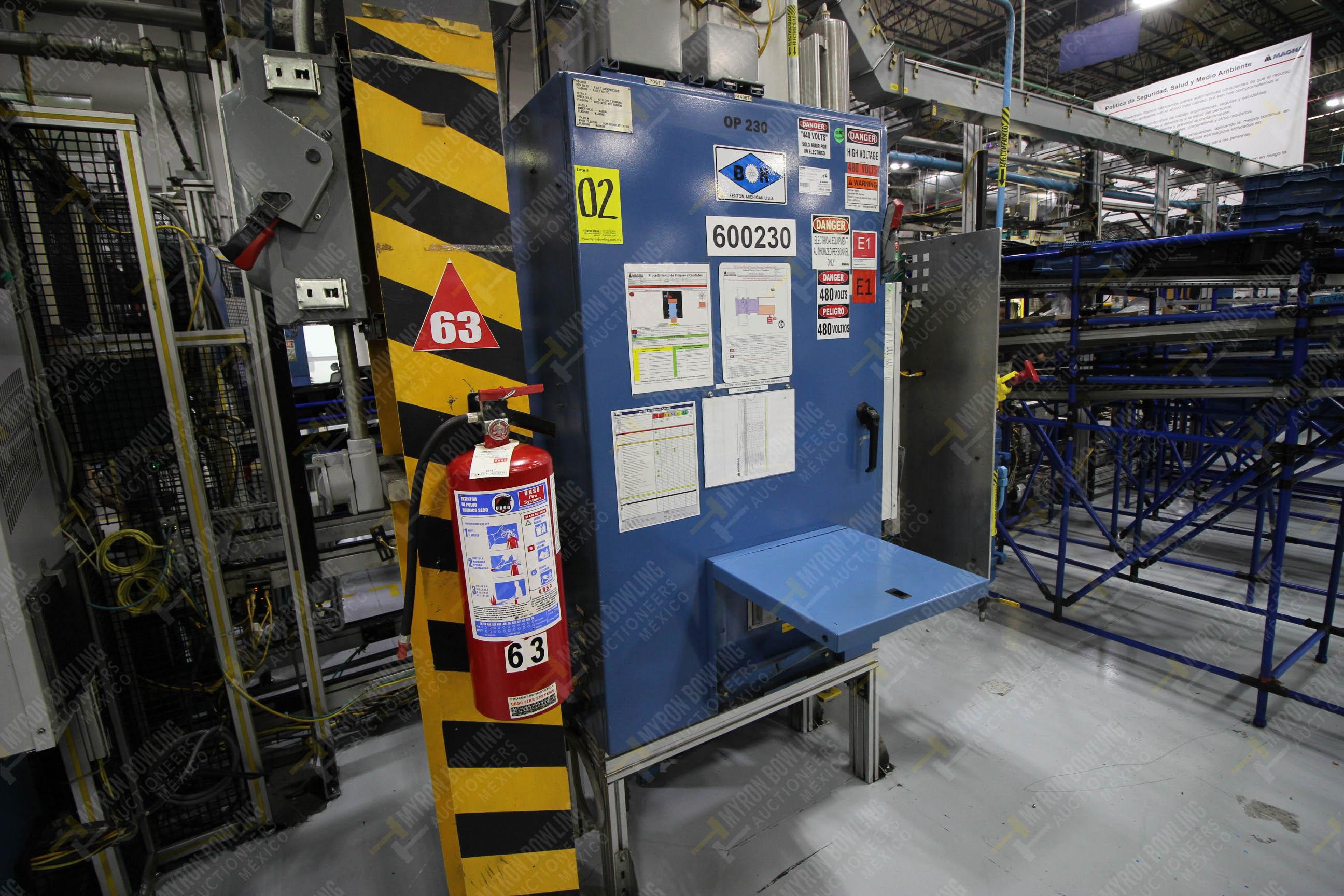 Estación automática para operación 230, para medición de gap - Image 27 of 36