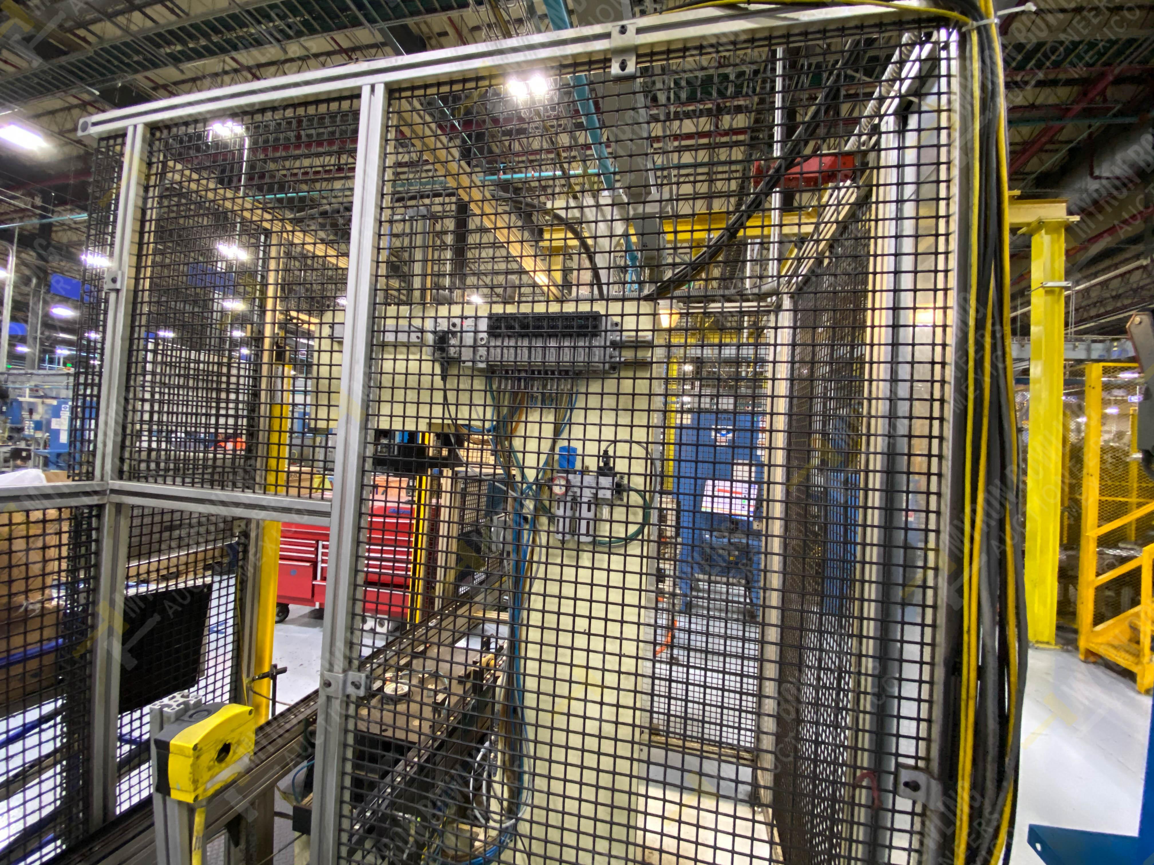 Estación manual para operación 383, contiene: Prensa marca PROMESS en estructura de placa de acero - Image 7 of 27