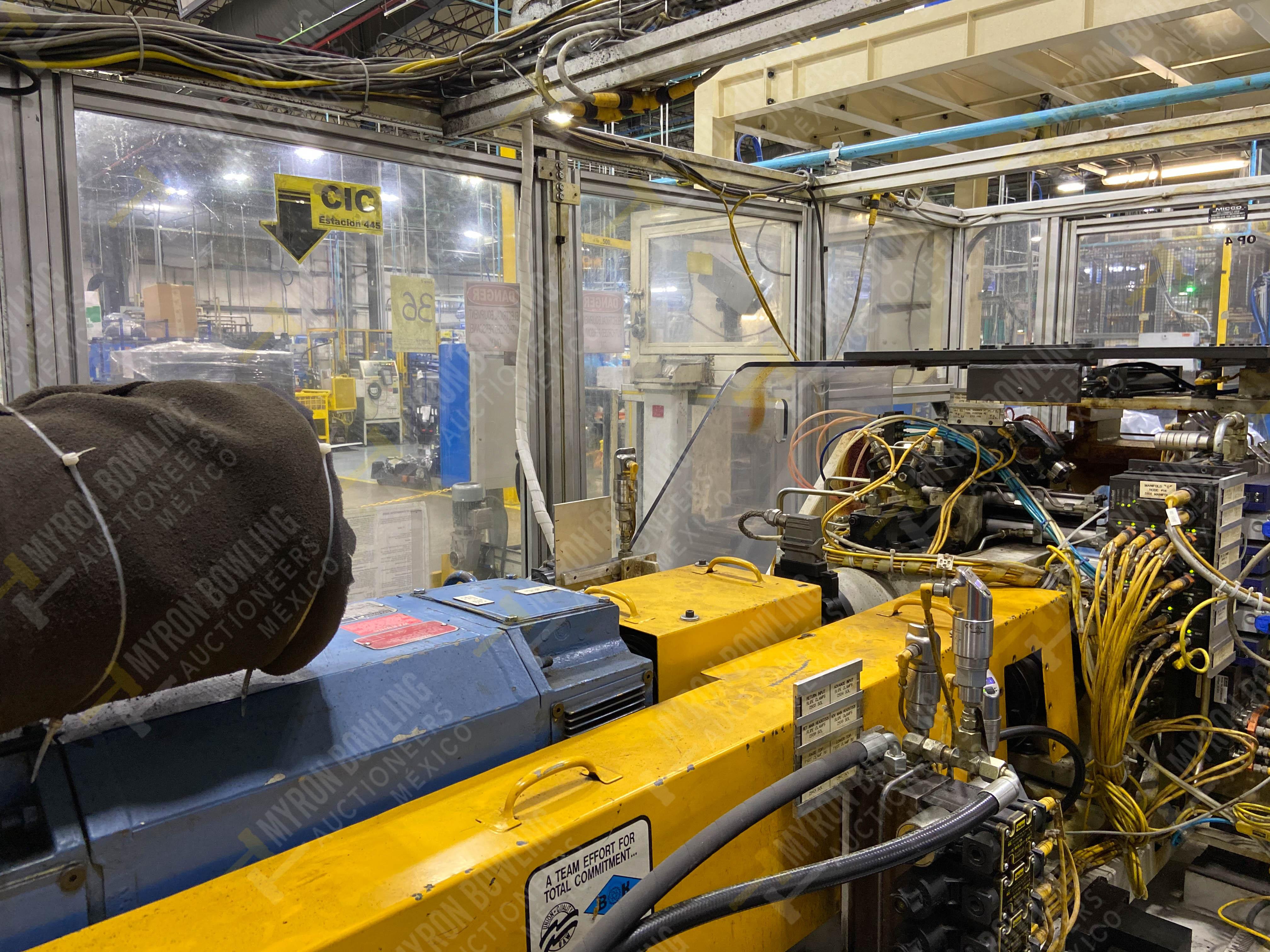 Estación semiautomática para operación 445, contiene: Máquina dinamómetro con sistema de revolución - Image 12 of 25