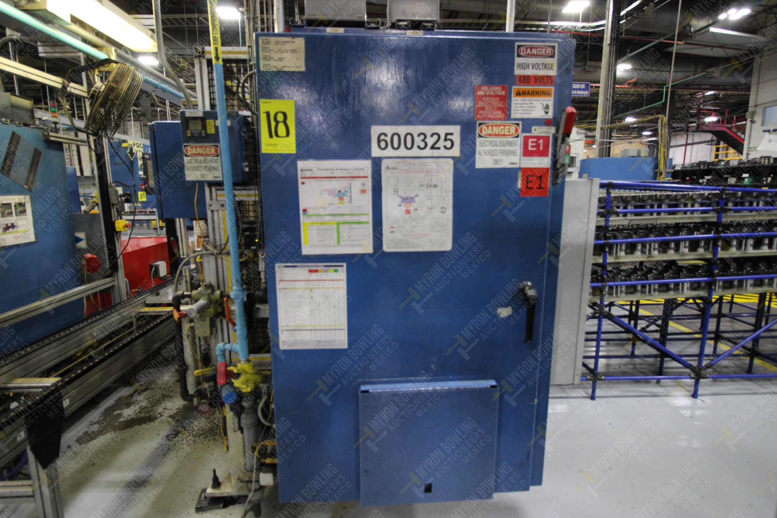 Estación semiautomática para operación 325, contiene: Prensa con dos cilindros marca TOX - Image 15 of 24