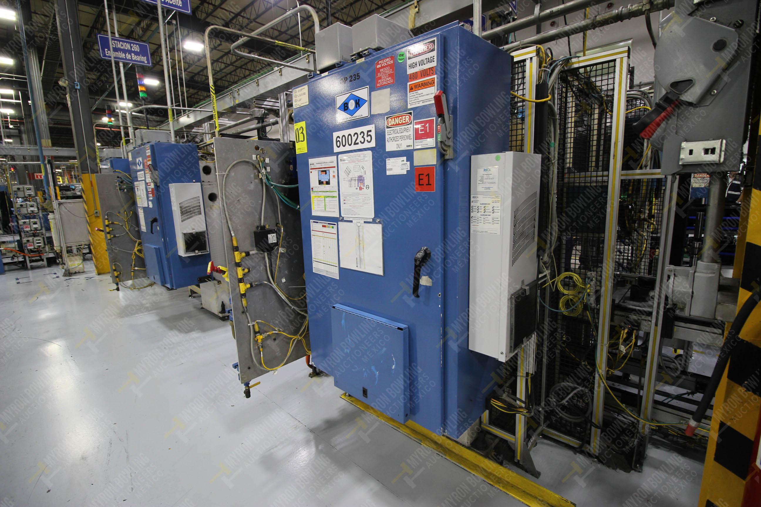 Estación semiautomáticapara operación 235 de ensamble de candado - Image 18 of 22