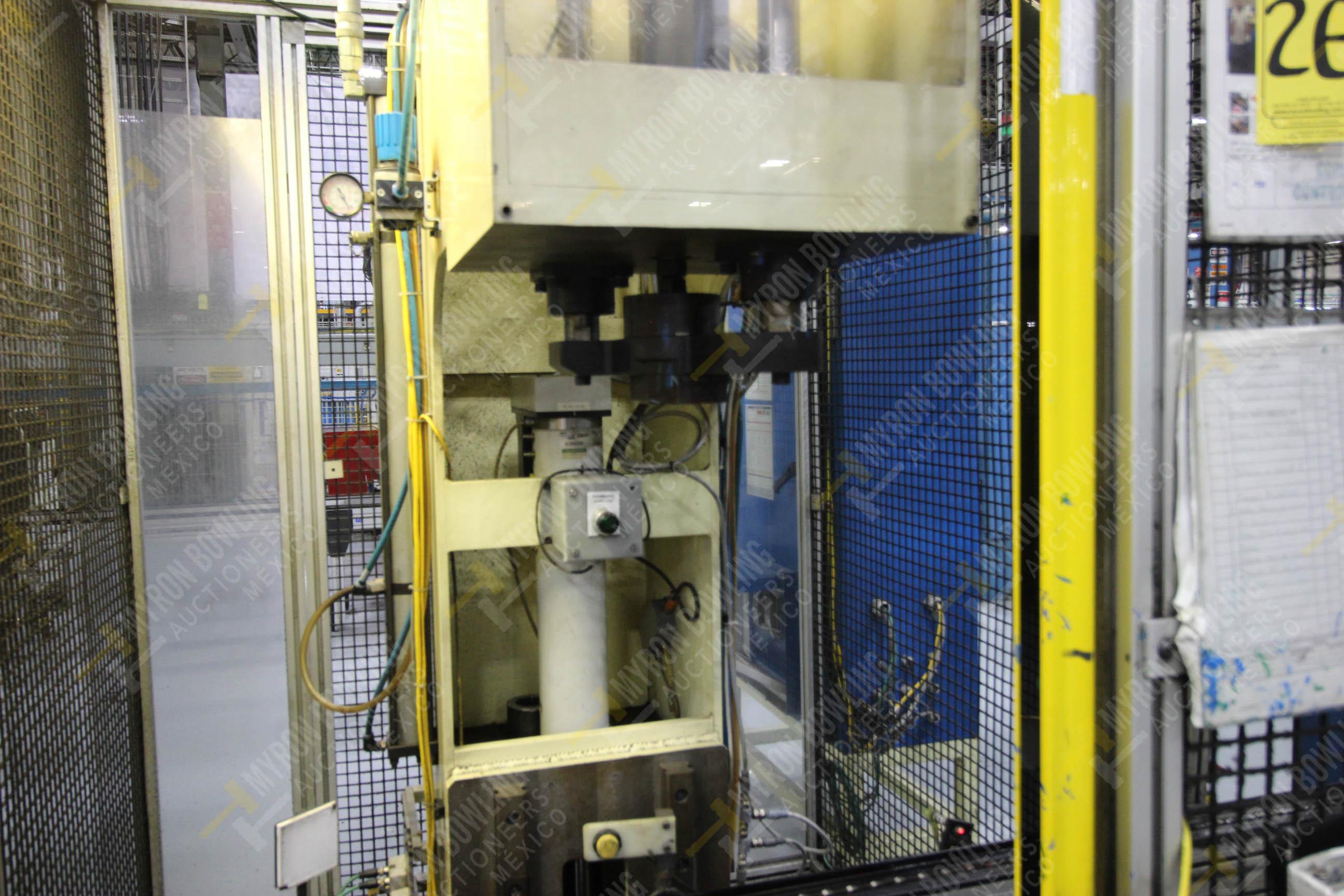 Estación manual para operación 383, contiene: Prensa marca PROMESS en estructura de placa de acero - Image 14 of 27