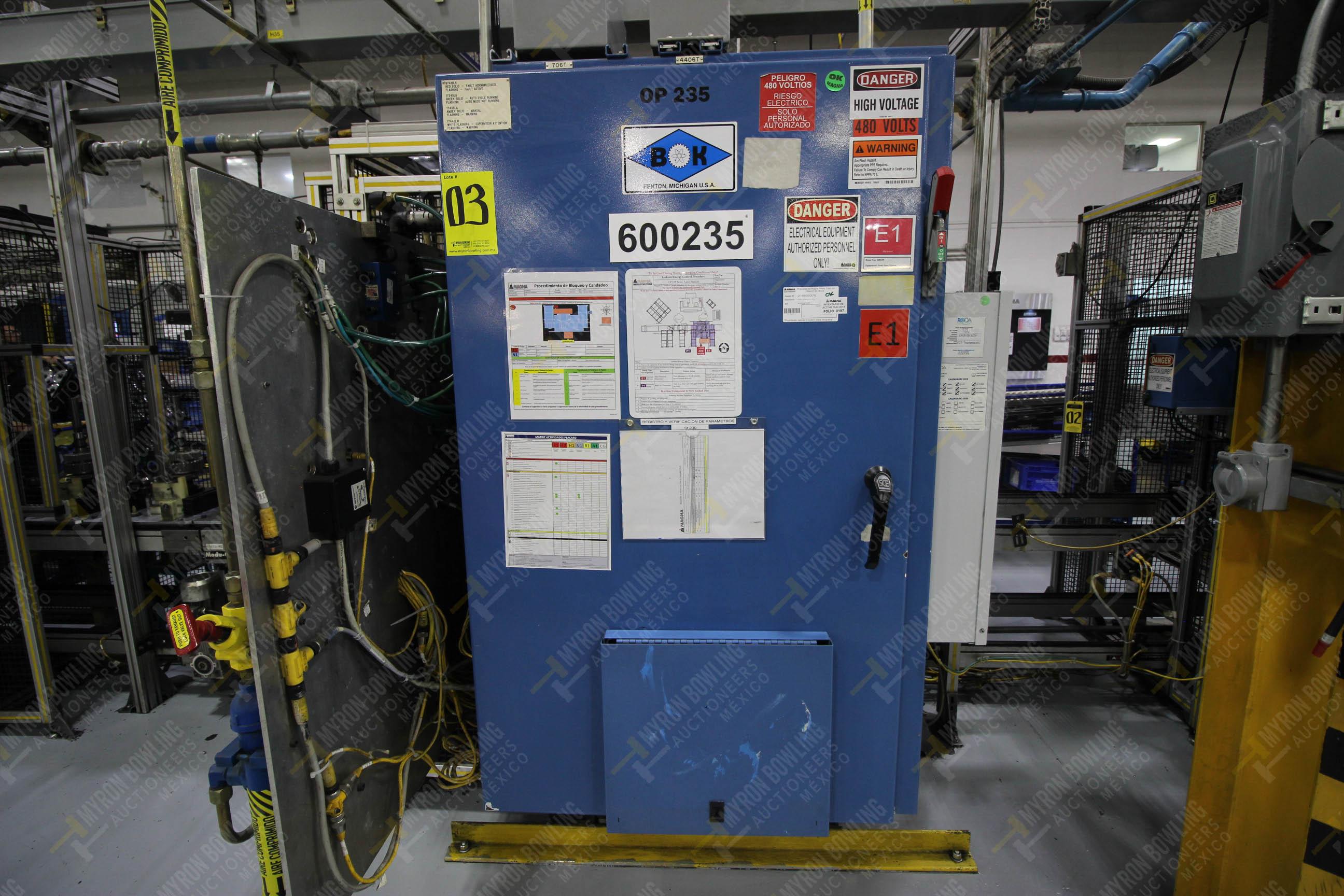Estación semiautomáticapara operación 235 de ensamble de candado - Image 15 of 22