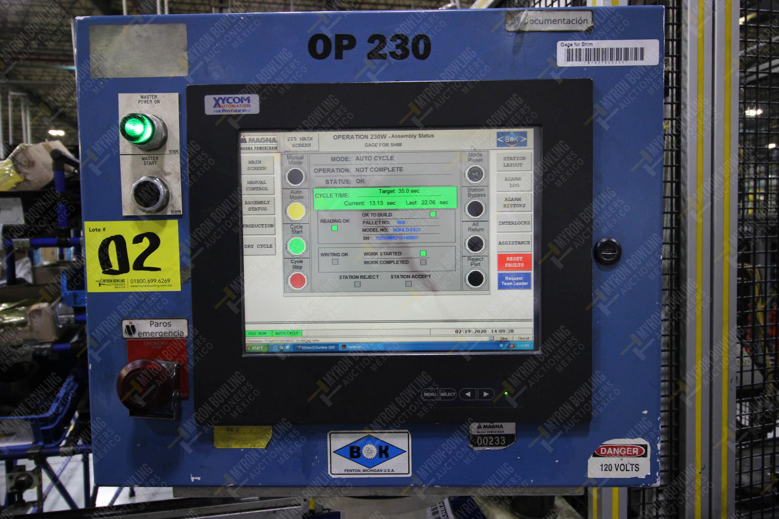Estación automática para operación 230, para medición de gap - Image 23 of 36