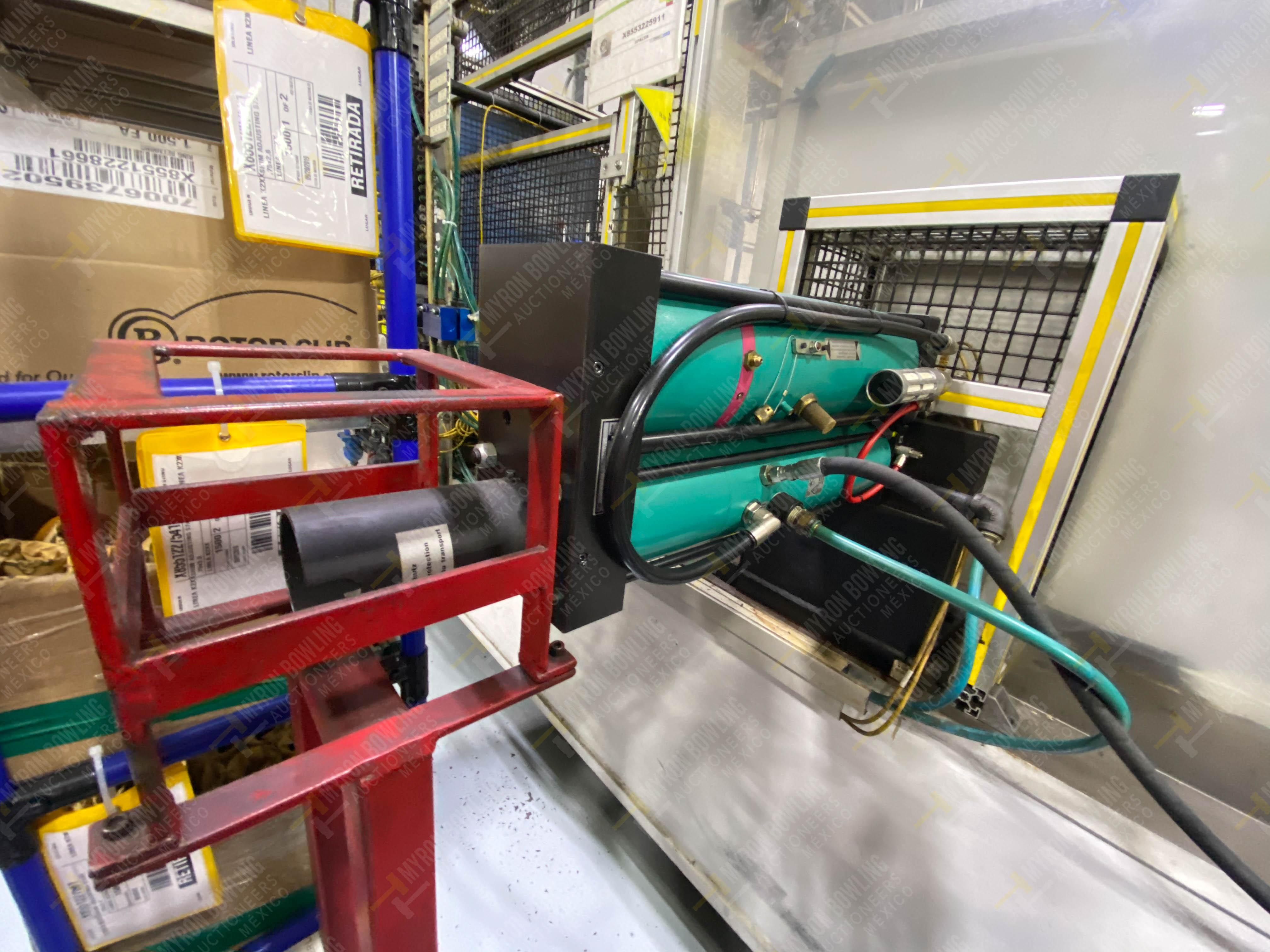 Estación semiautomática para operación 265A y 265B de ensamble de resorte, candado y ponchado - Image 8 of 30