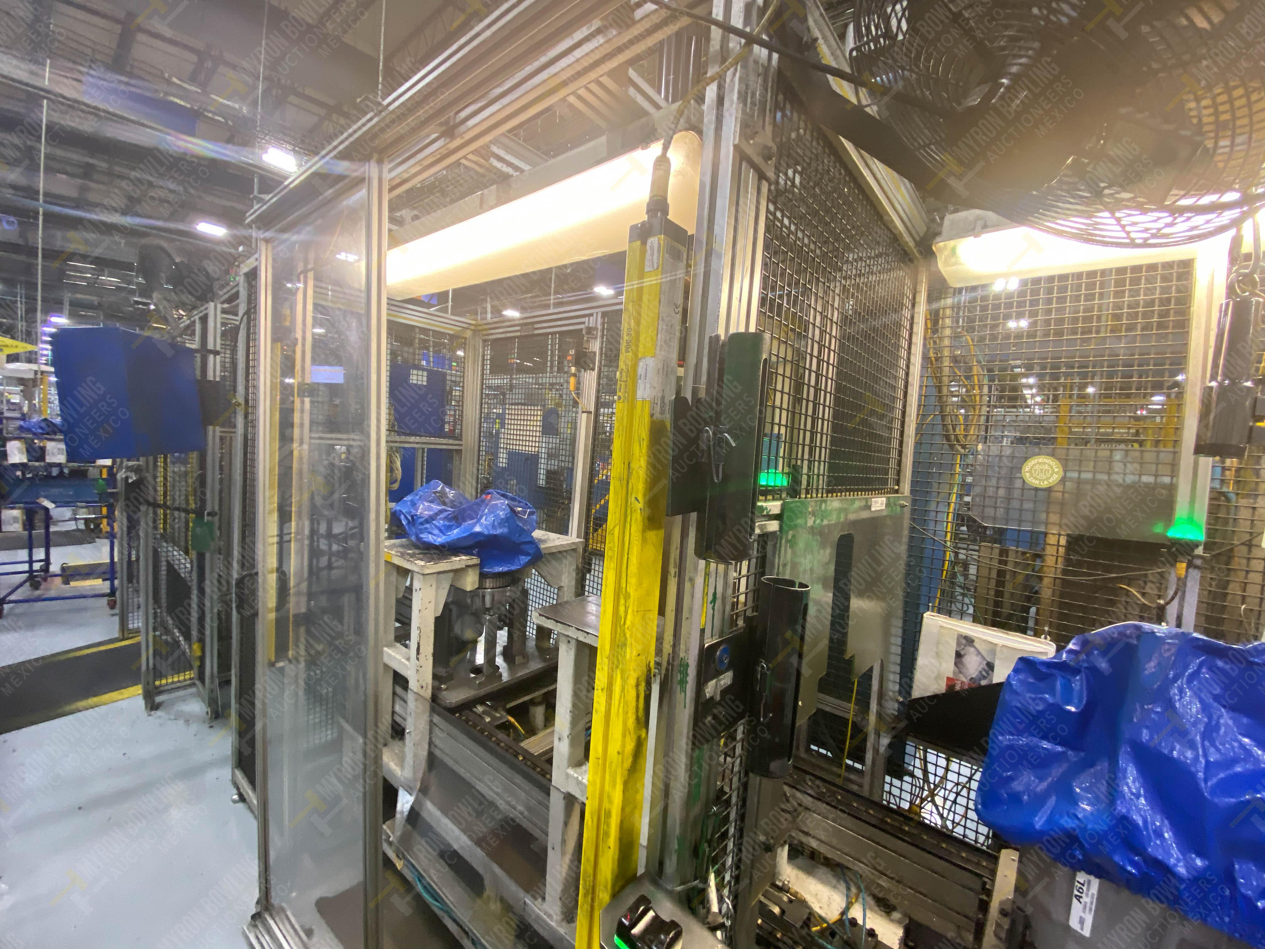 Estación semiautomática para operación 340, contiene: Prensa en estructura de placa de acero - Image 11 of 32