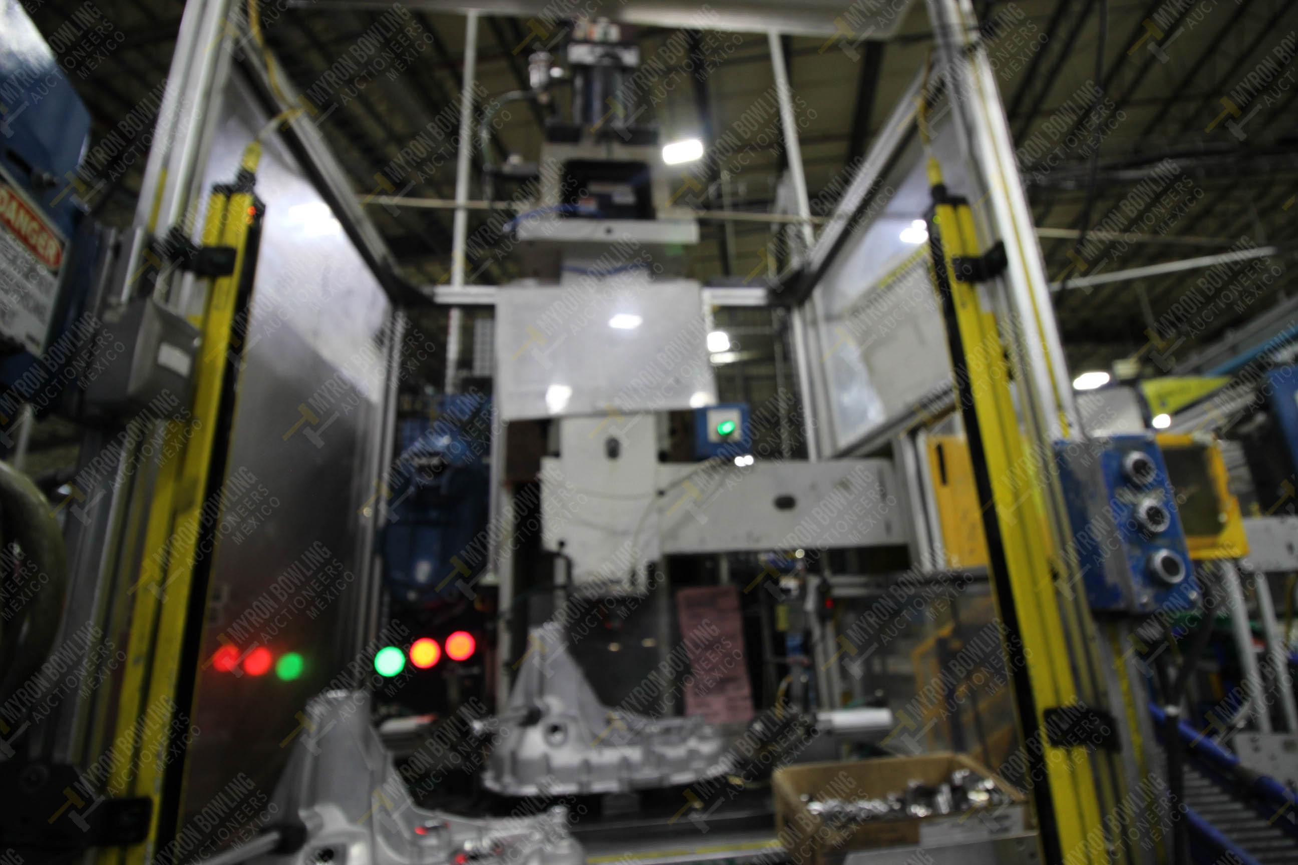 Estación semiautomática para operación 355A, contiene: Prensa en estructura de placa de acero - Image 12 of 36
