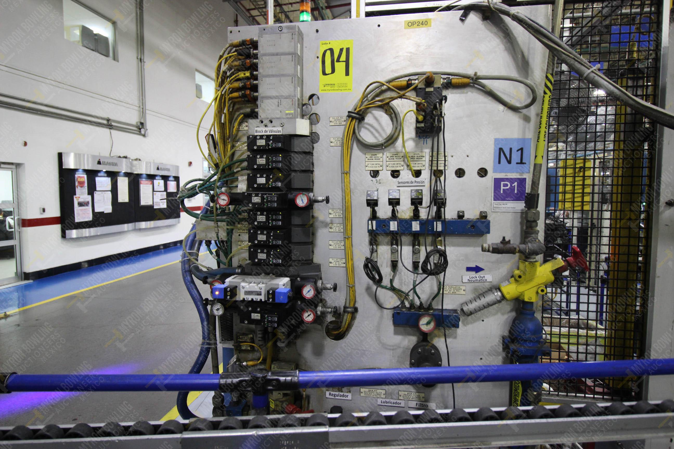 Estación semiautomática para operación 240A de ensamble de balero - Image 8 of 29
