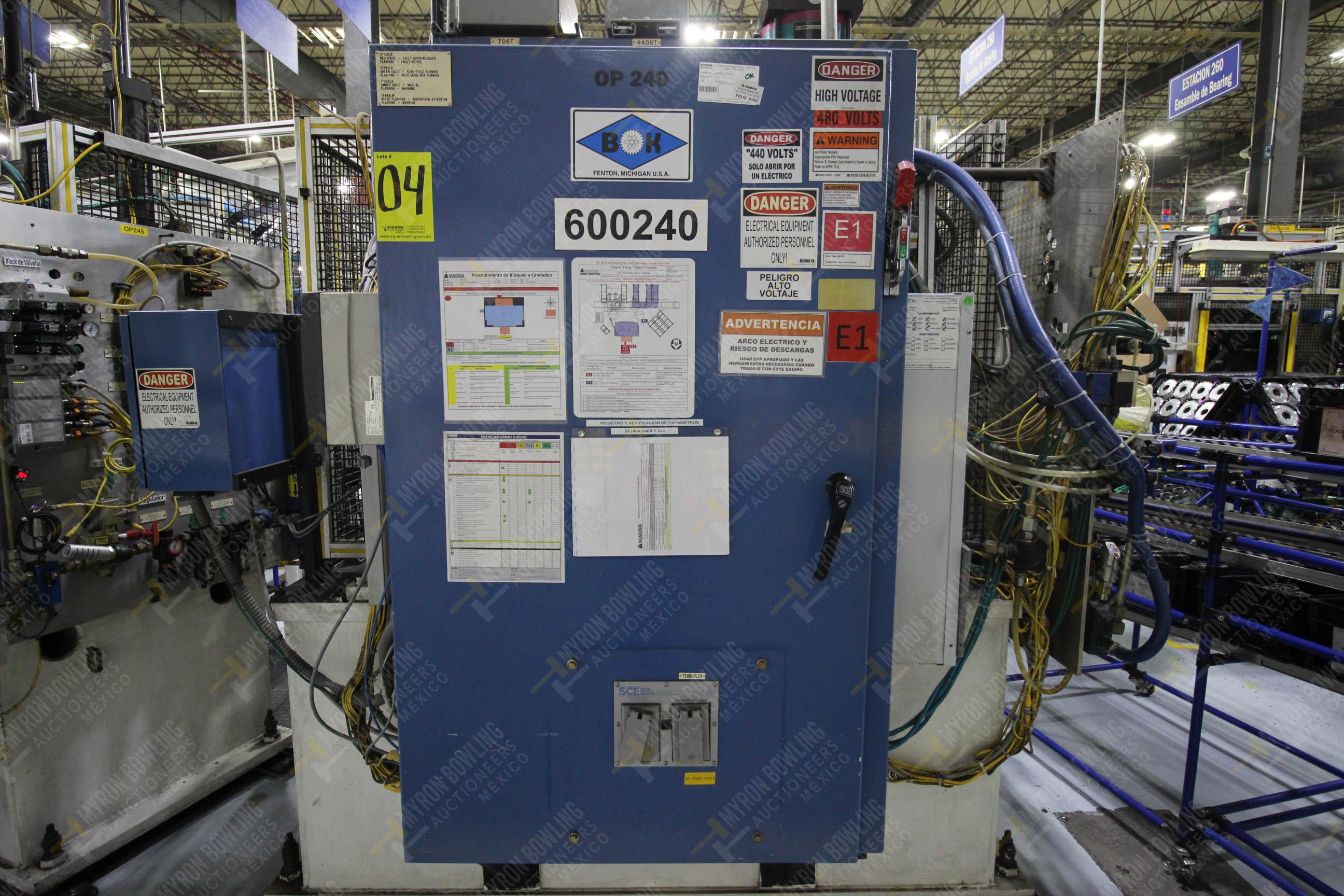 Estación semiautomática para operación 240A de ensamble de balero - Image 18 of 29