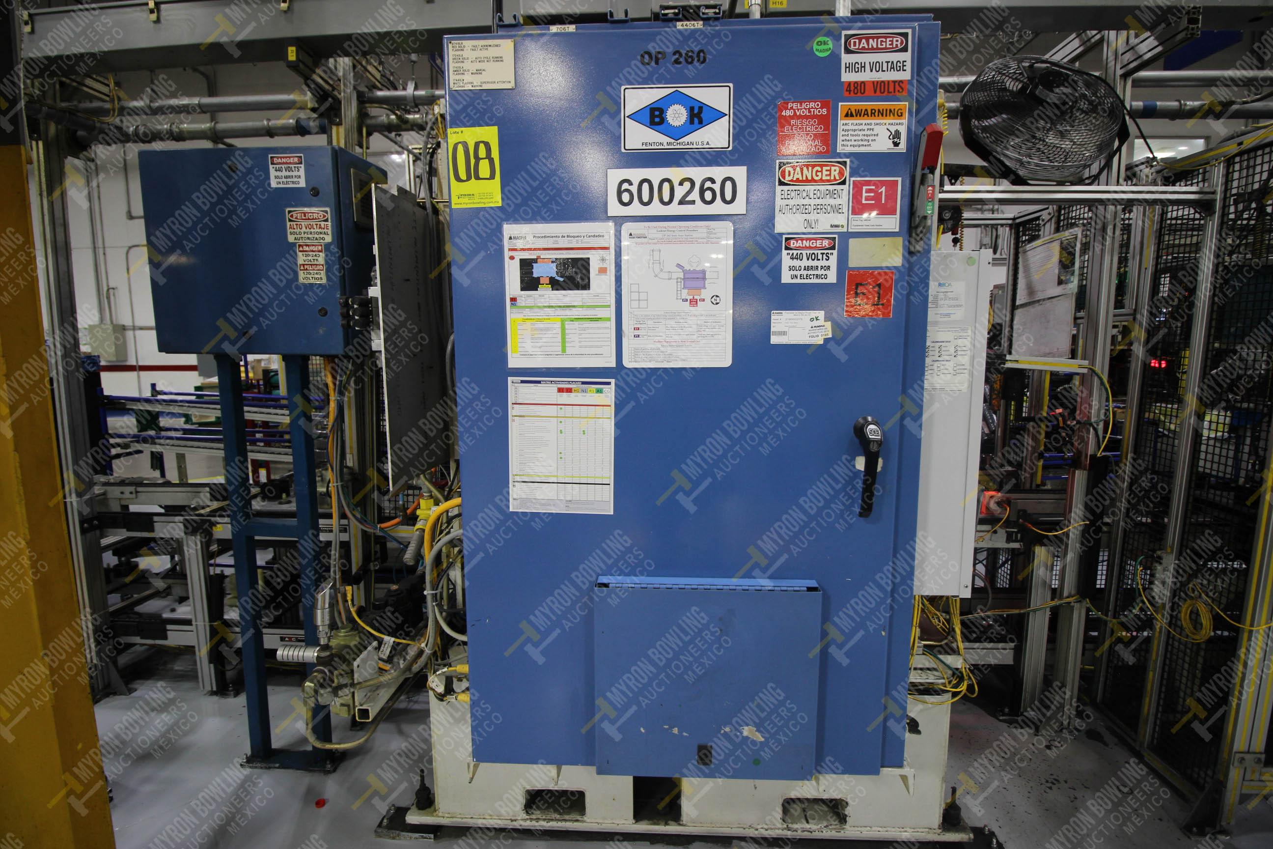Estación semiautomática para operación 260 de ensamble - Image 11 of 20