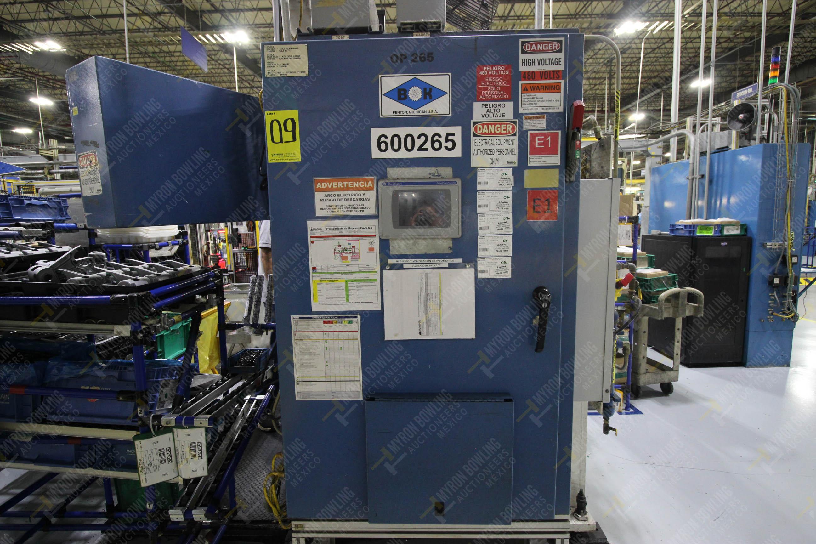 Estación semiautomática para operación 265A y 265B de ensamble de resorte, candado y ponchado - Image 21 of 30