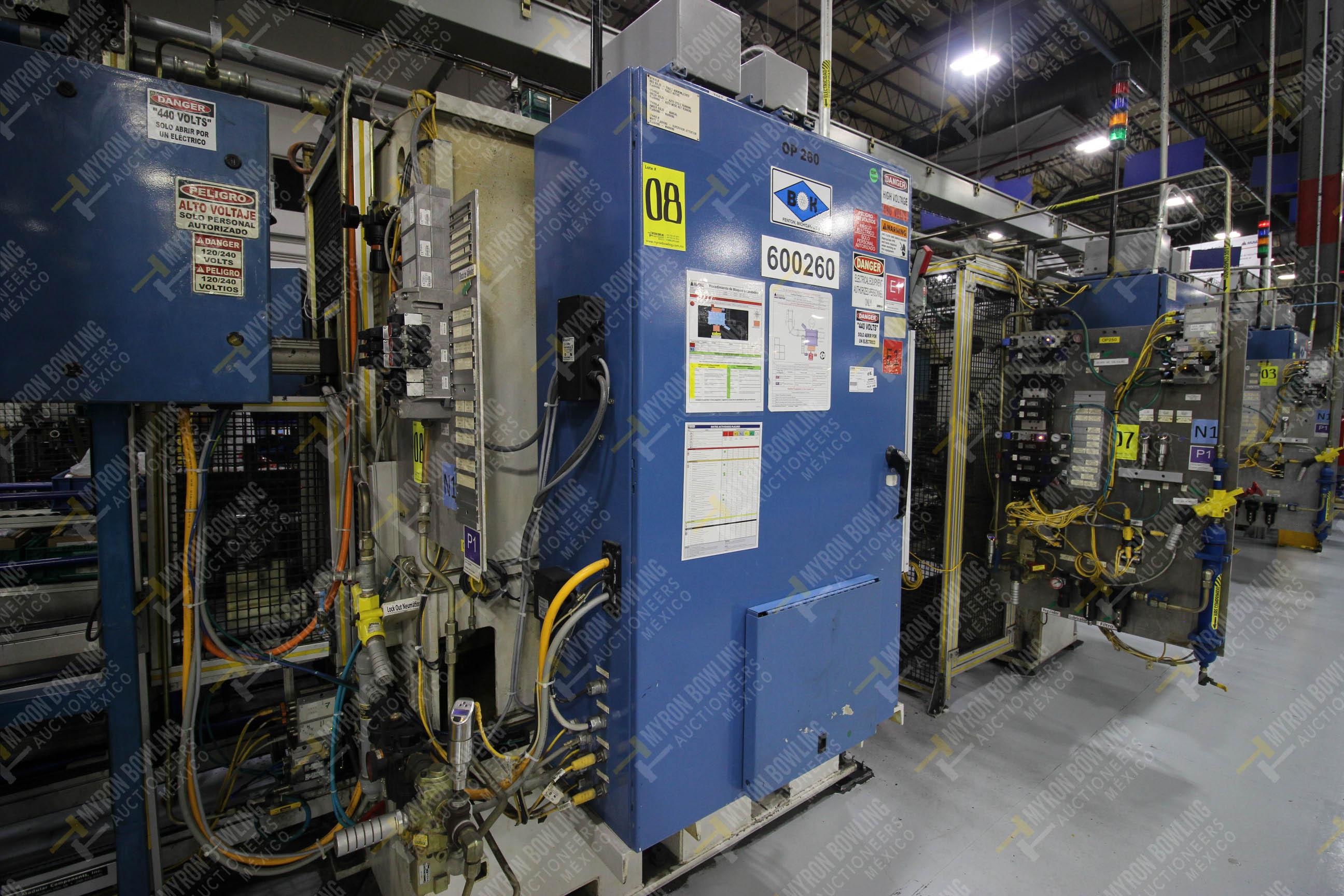 Estación semiautomática para operación 260 de ensamble - Image 8 of 20
