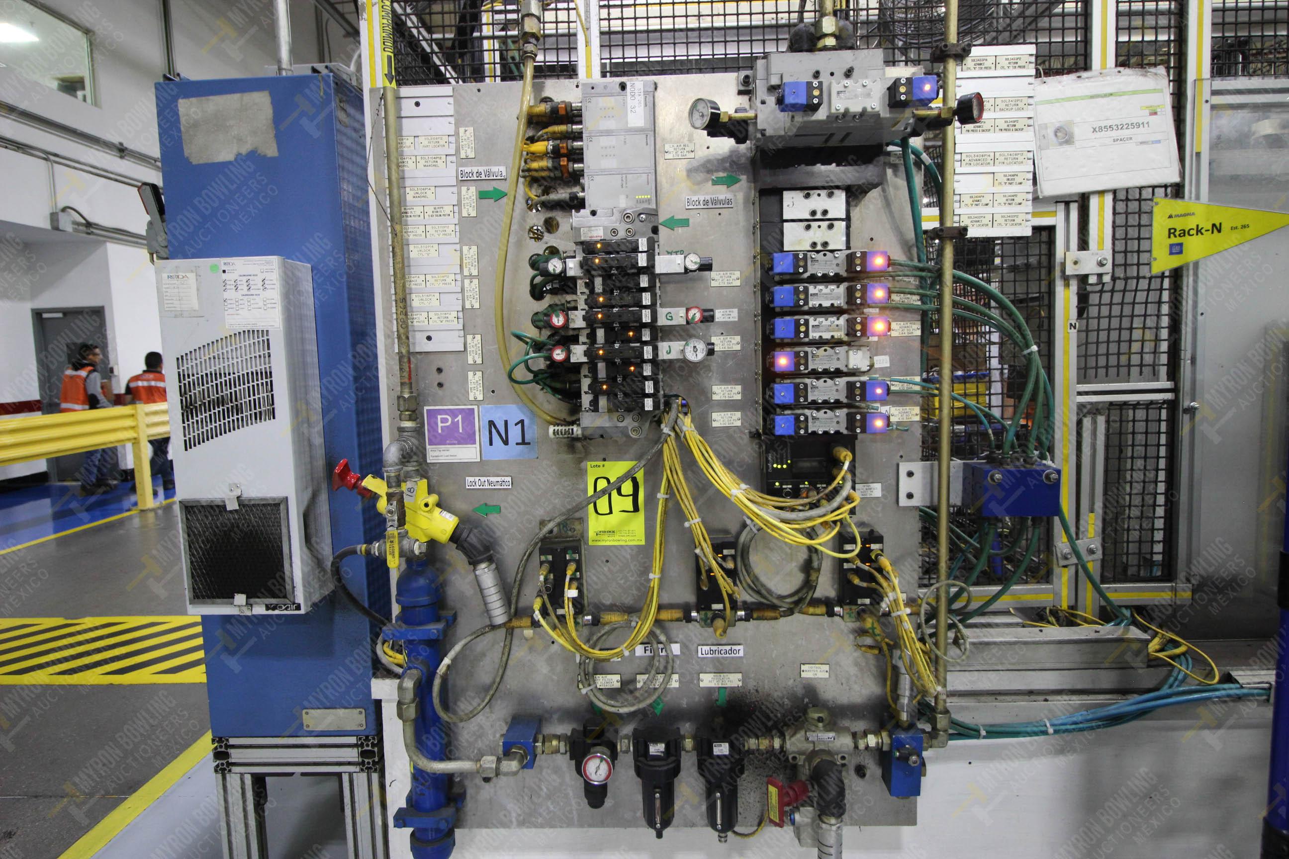 Estación semiautomática para operación 265A y 265B de ensamble de resorte, candado y ponchado - Image 12 of 30