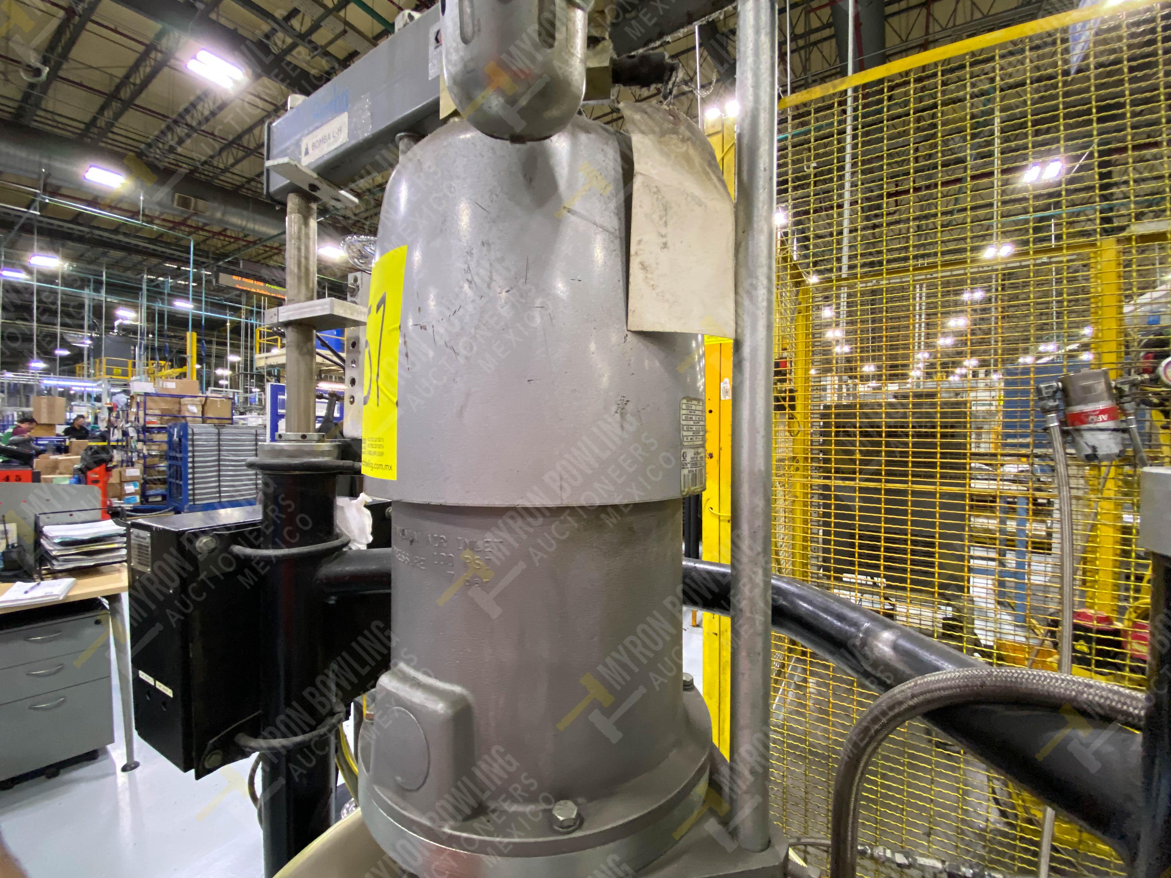 Dos sistemas de dispensador de sellador RTV (bombas) marca Graco Bulldog, 8.3 L/min max - Image 4 of 12