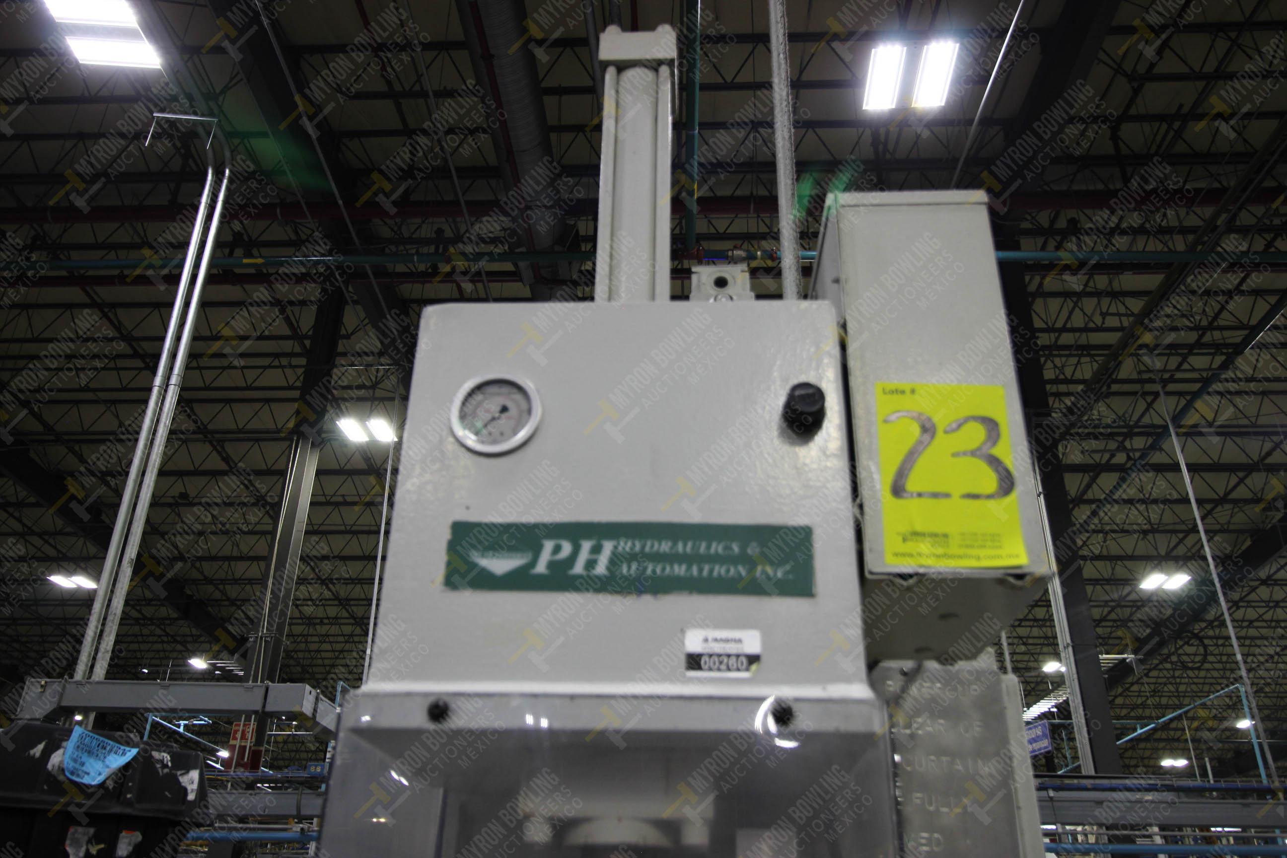 Estación semiautomática para operación 355B, contiene: Prensa tipo cuello de ganso - Image 18 of 21
