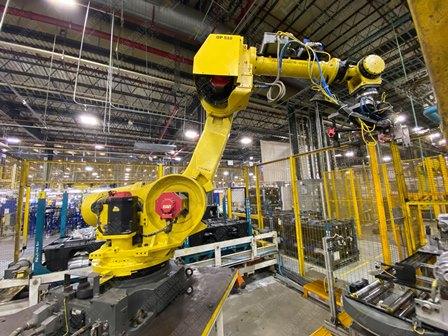 Robot con capacidad de carga de 50-100 Kg, controlador de robot y teach pendant - Image 17 of 22
