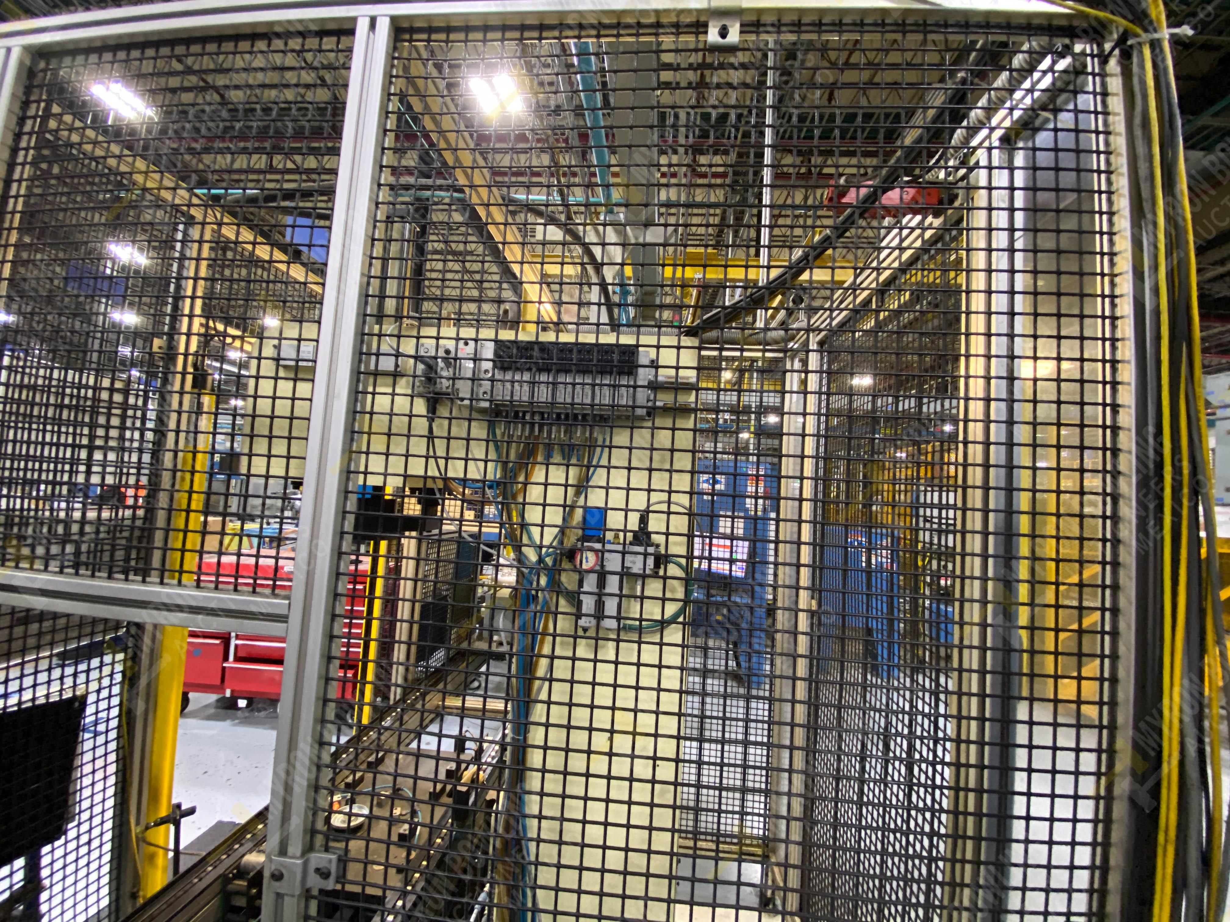 Estación manual para operación 383, contiene: Prensa marca PROMESS en estructura de placa de acero - Image 17 of 27