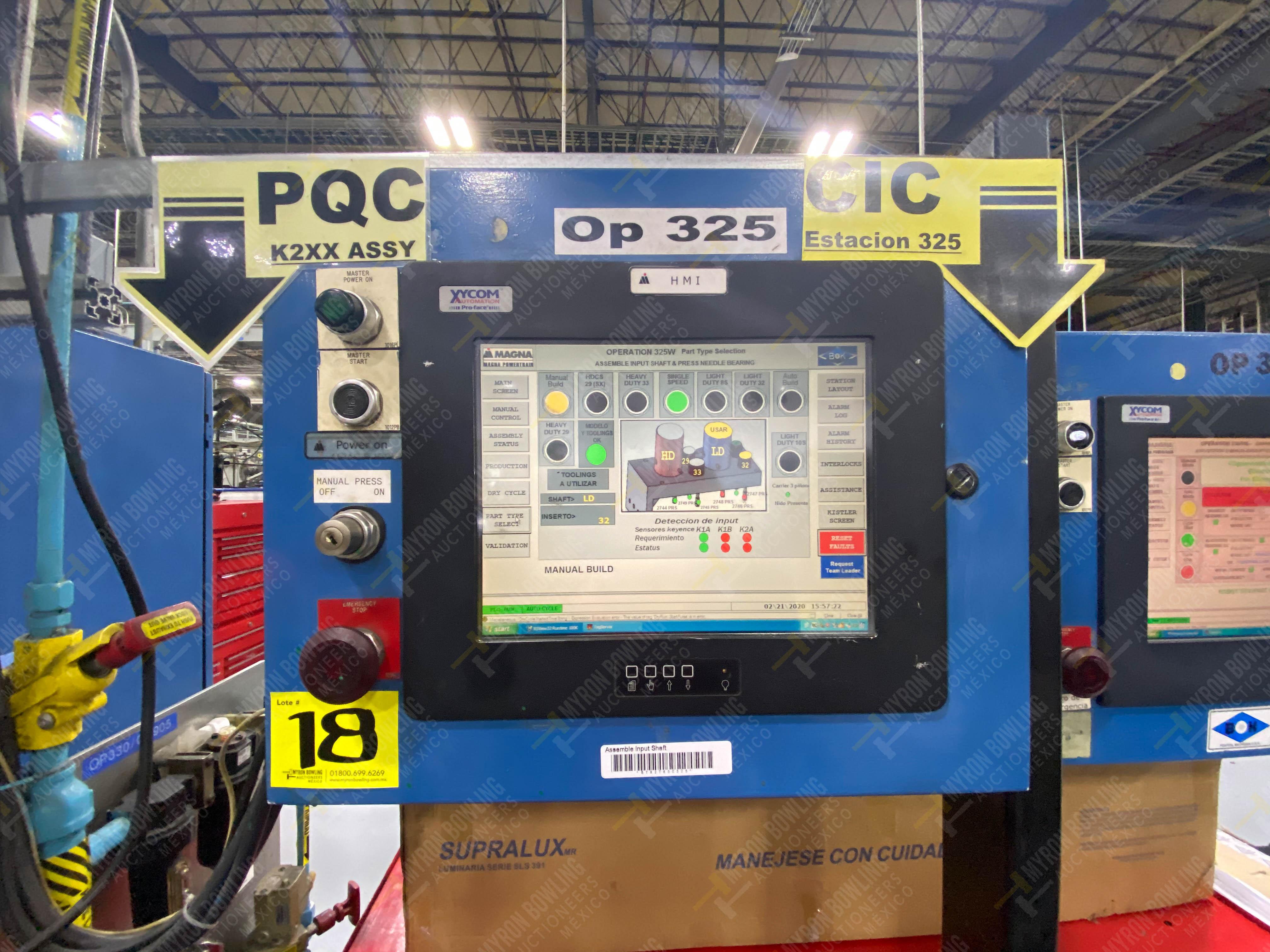 Estación semiautomática para operación 325, contiene: Prensa con dos cilindros marca TOX - Image 23 of 24