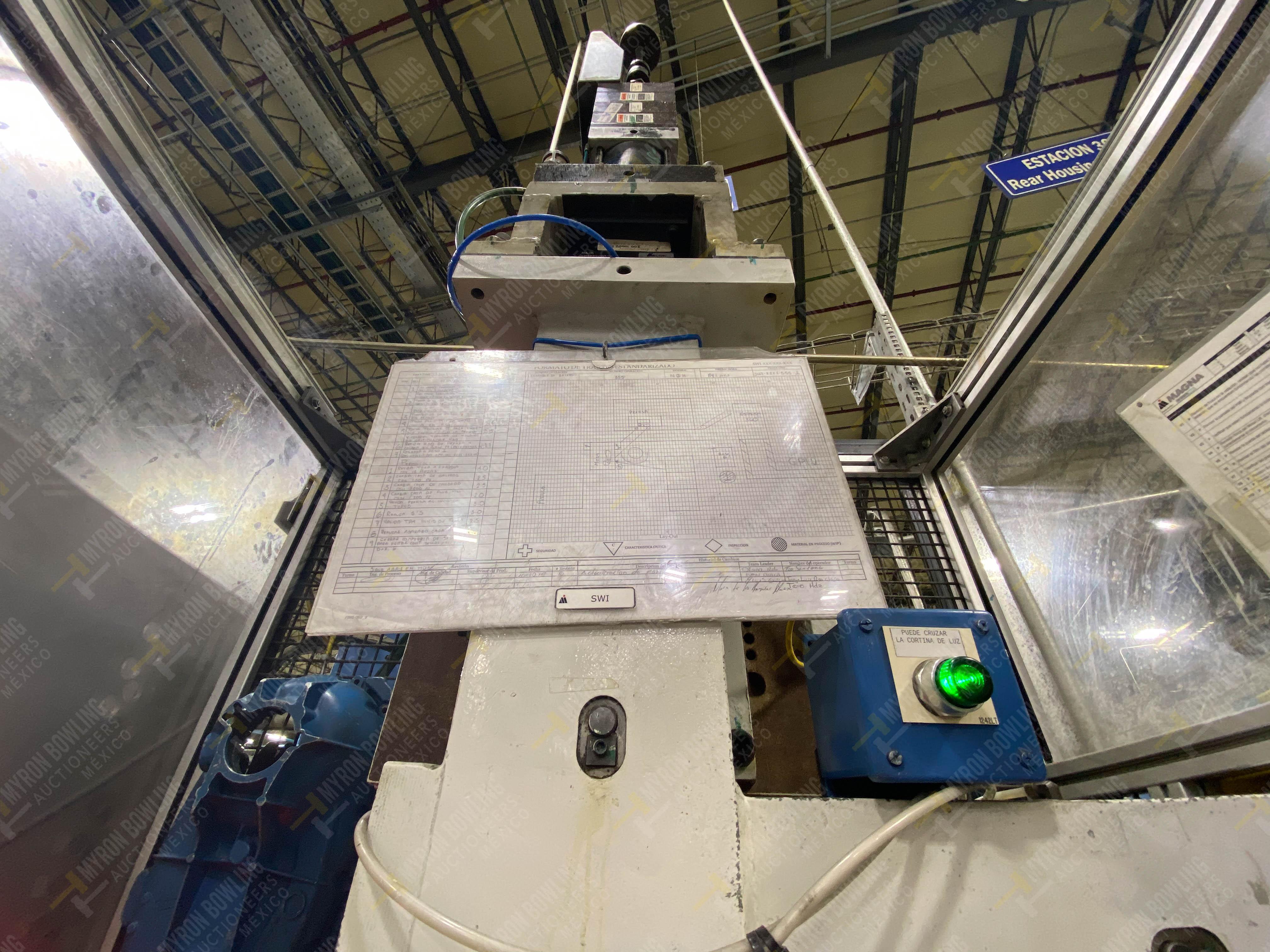 Estación semiautomática para operación 355A, contiene: Prensa en estructura de placa de acero - Image 15 of 36