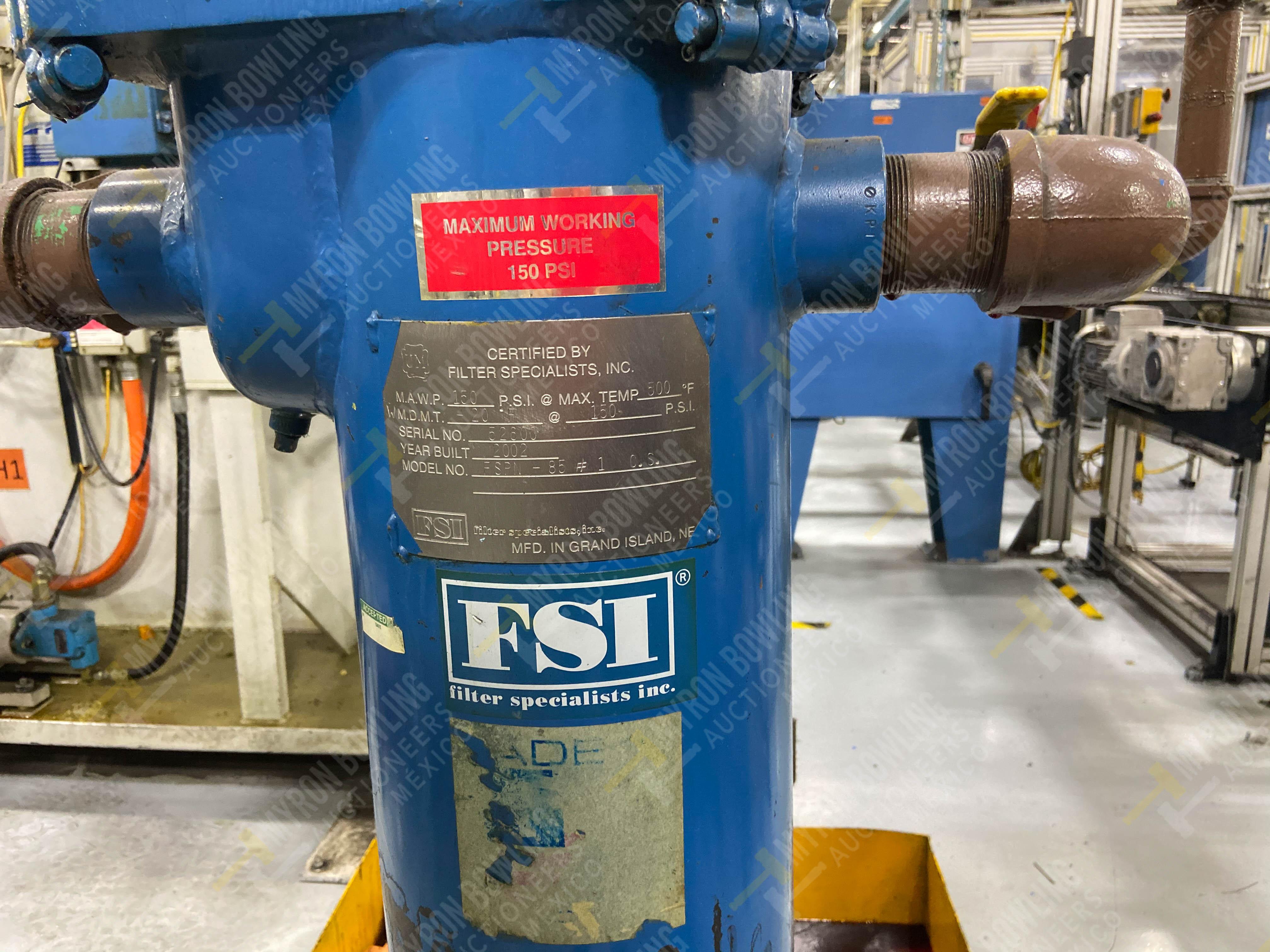 Bomba de aceite y filtros para el llenado de housings en lote 30 y 31. - Image 14 of 30