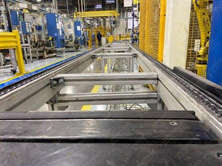 Conveyor de 350-380 mts lineales aproximadamente, con una altura de 0.60 x .55 metros - Image 5 of 12