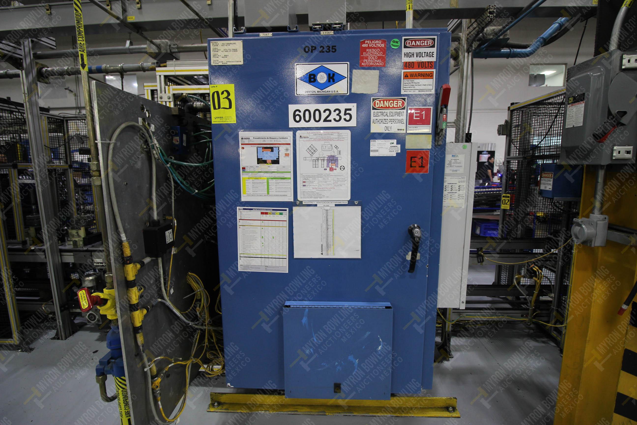Estación semiautomáticapara operación 235 de ensamble de candado - Image 16 of 22