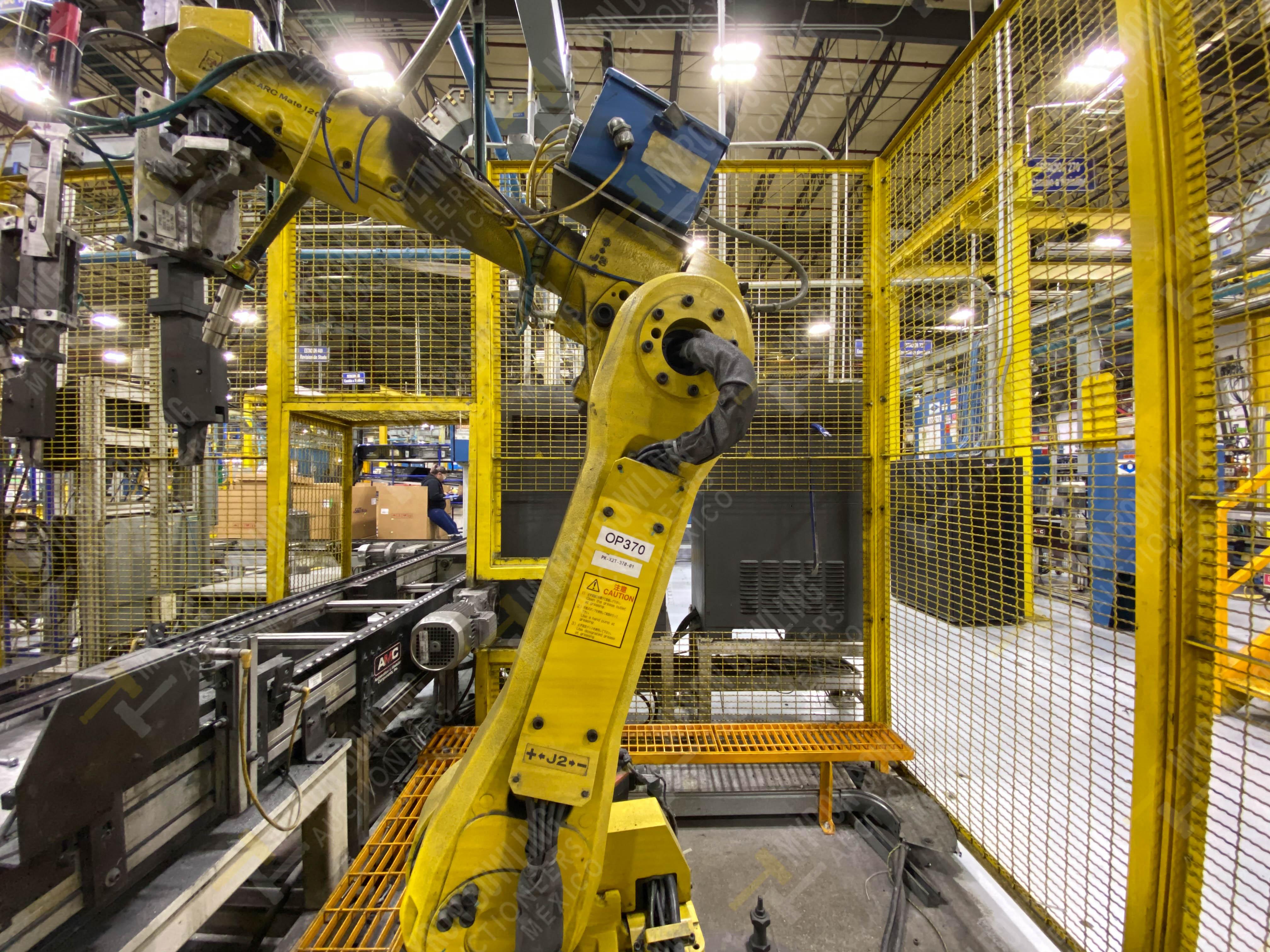 Robot con capacidad de carga de 15-30 Kg, controlador de robot y teach pendant