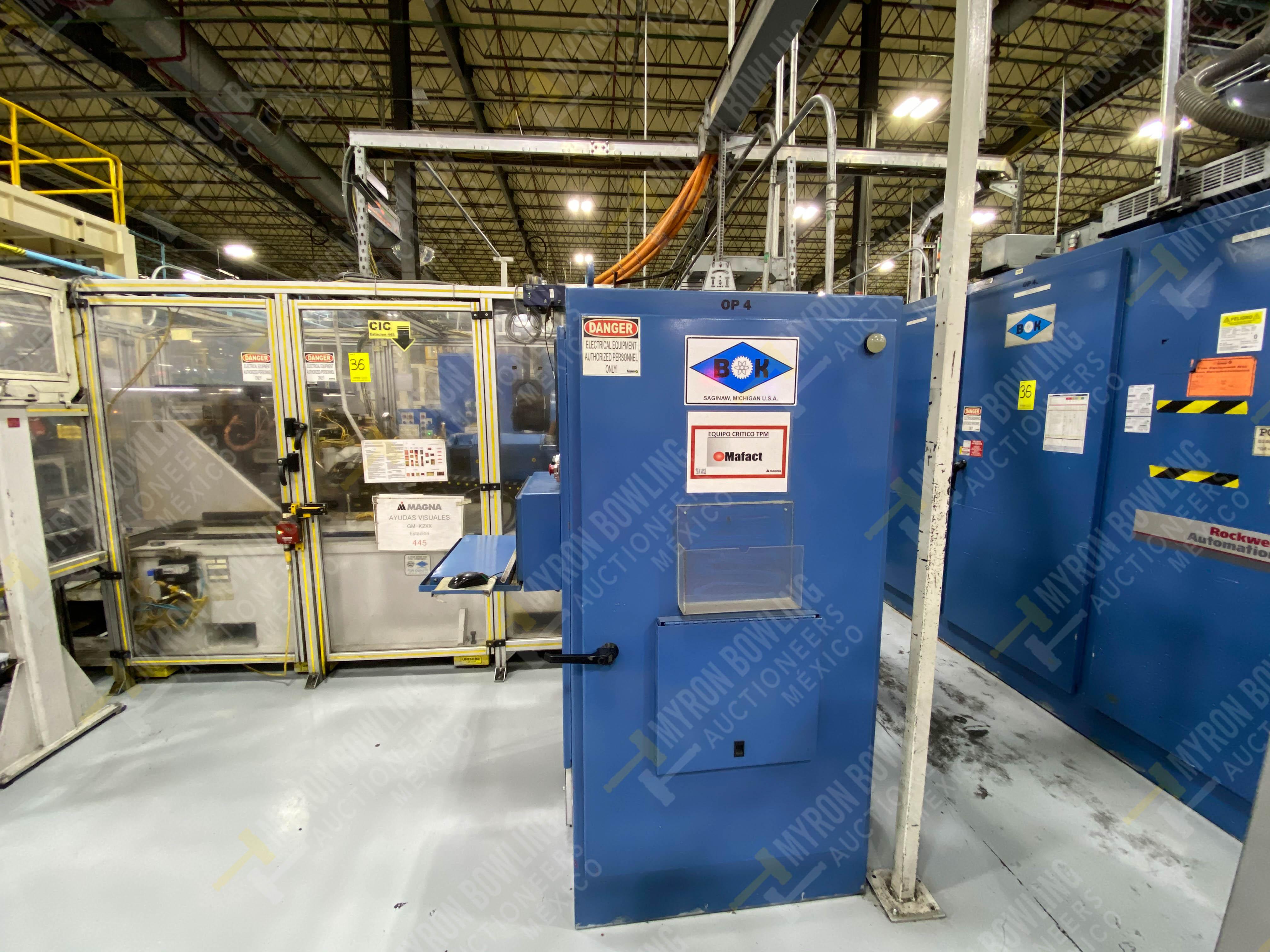 Estación semiautomática para operación 445, contiene: Máquina dinamómetro con sistema de revolución - Image 2 of 25