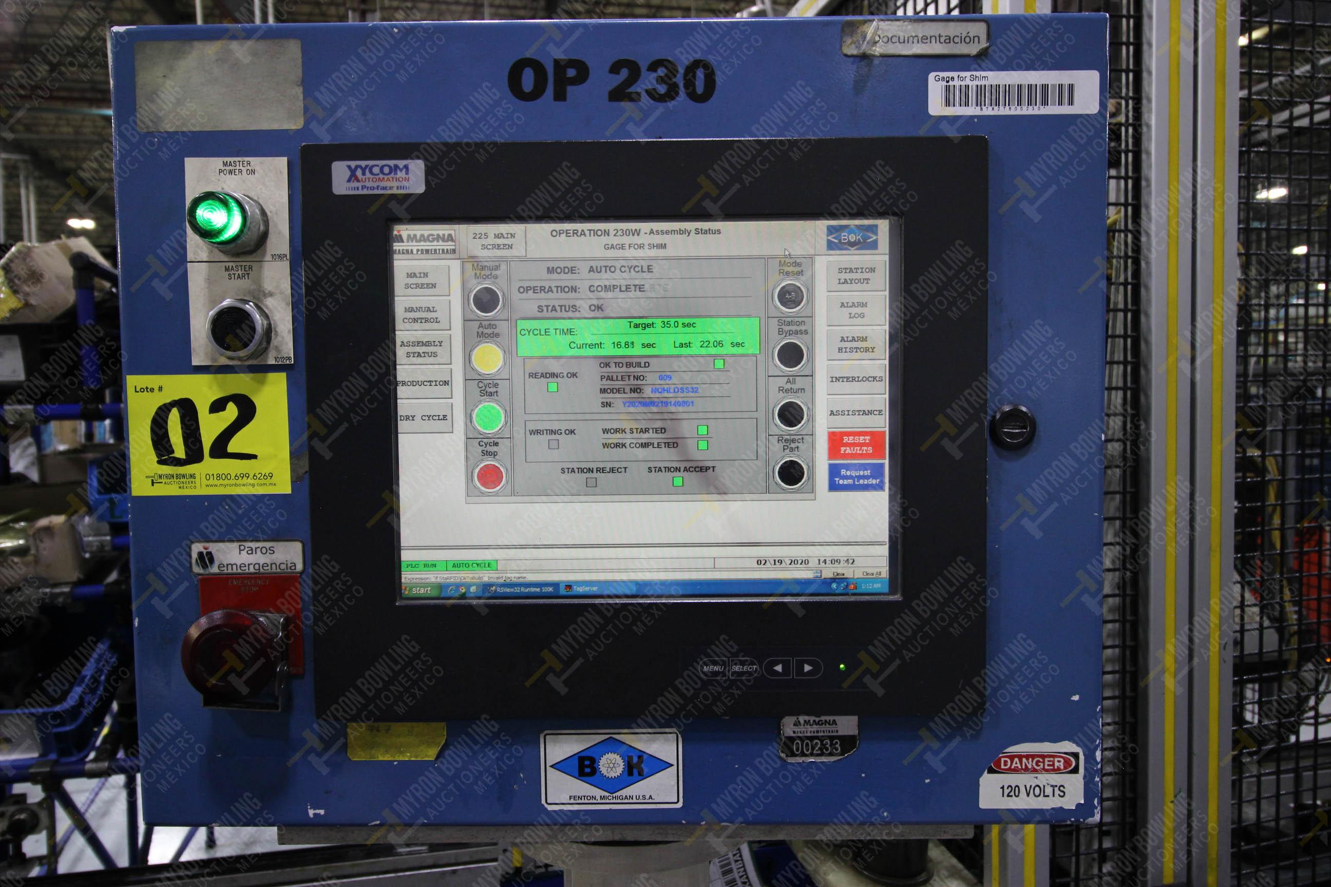 Estación automática para operación 230, para medición de gap - Image 24 of 36