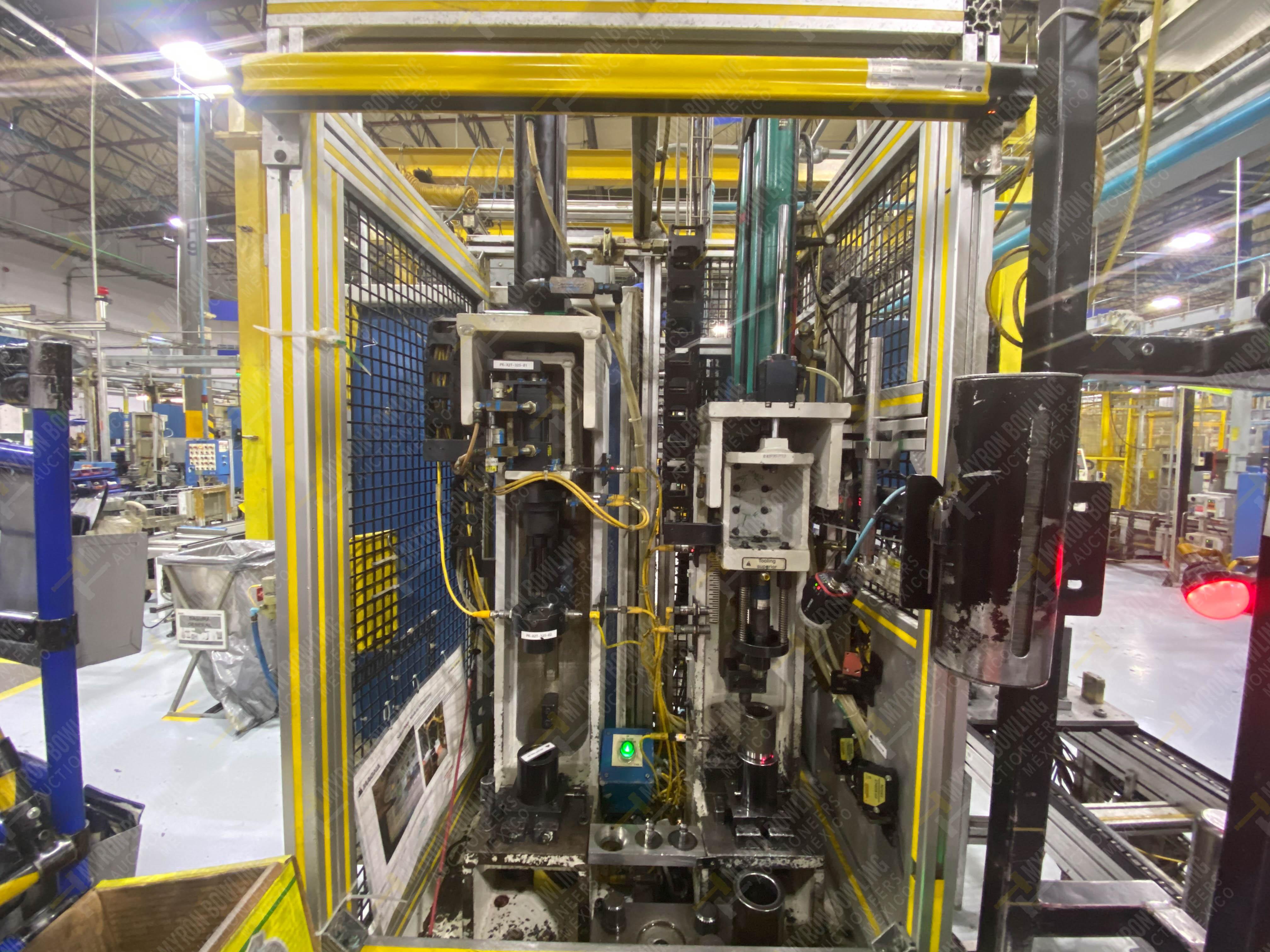 Estación semiautomática para operación 325, contiene: Prensa con dos cilindros marca TOX - Image 2 of 24