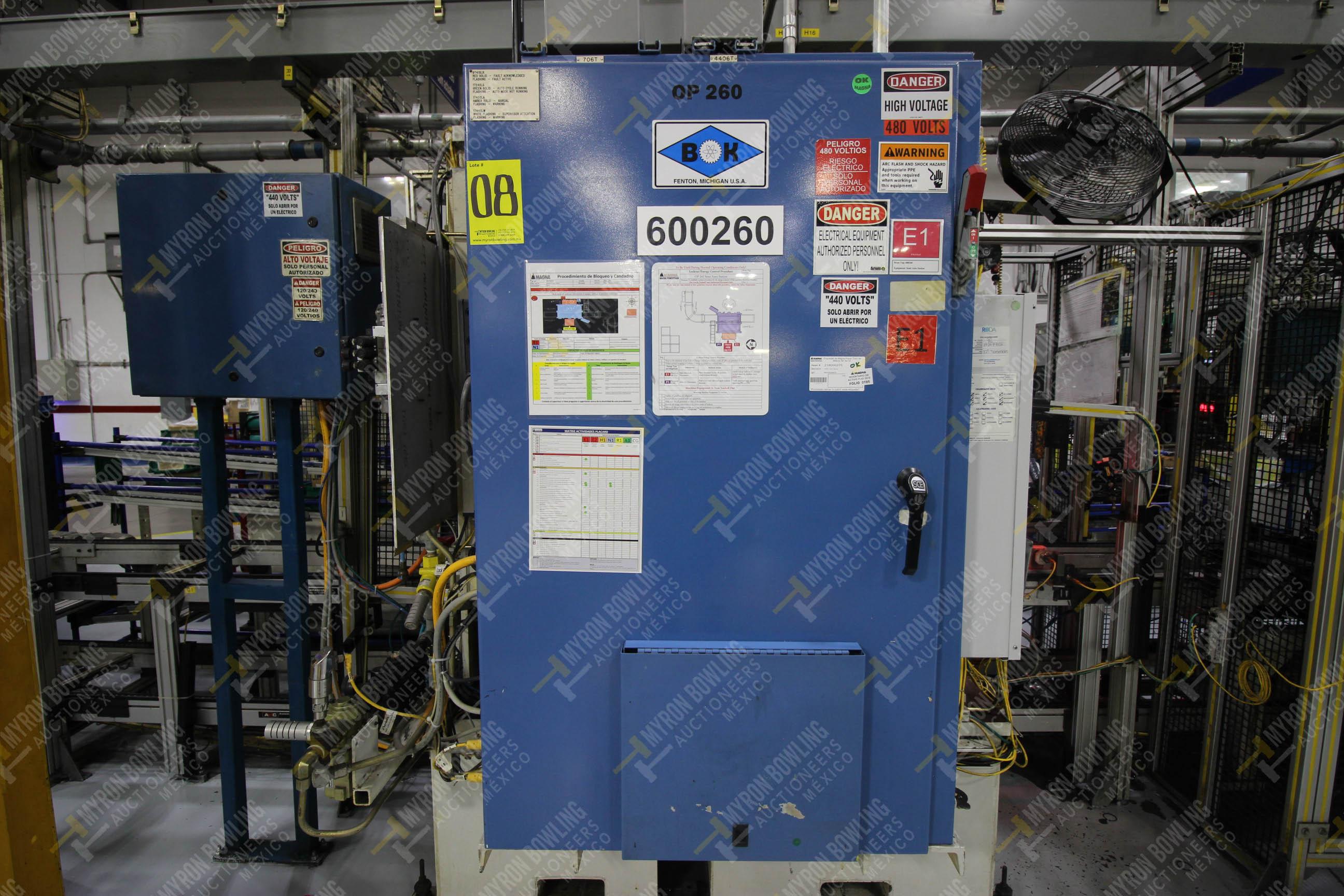 Estación semiautomática para operación 260 de ensamble - Image 7 of 20