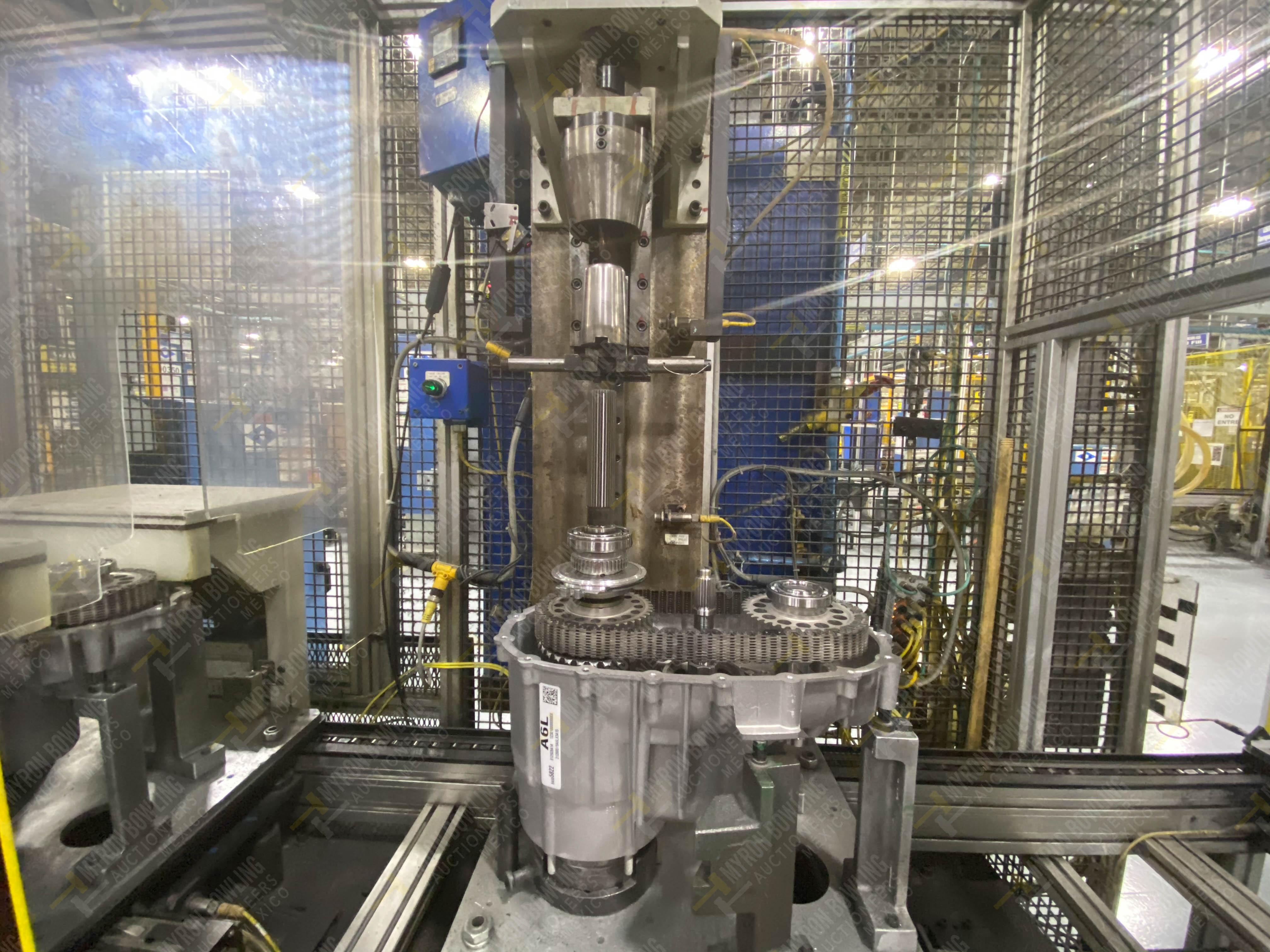 Estación semiautomática para operación 341, contiene: Prensa en estructura de placa de acero - Image 9 of 26
