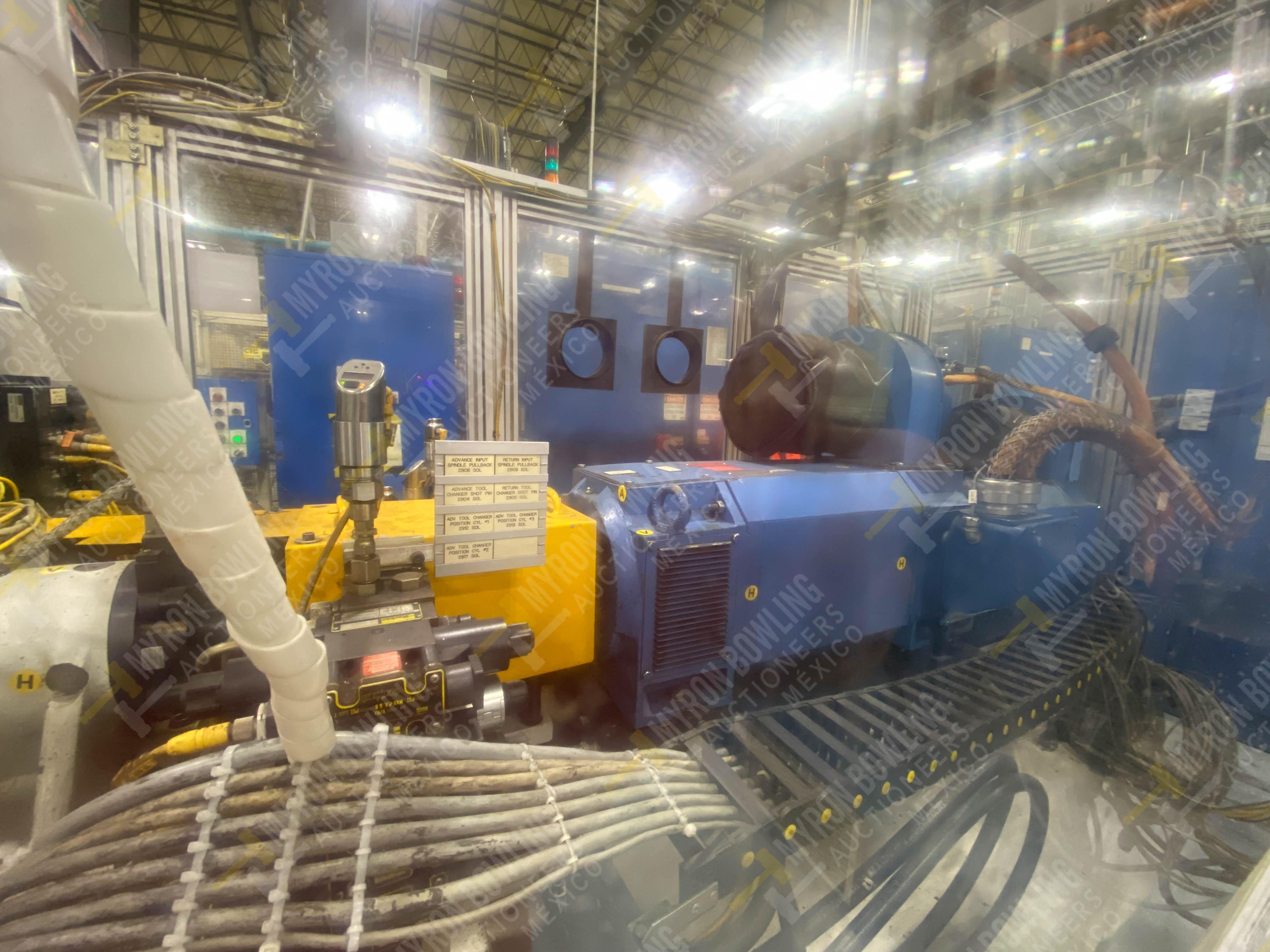 Estación semiautomática para operación 445, contiene: Máquina dinamómetro con sistema de revolución - Image 10 of 25