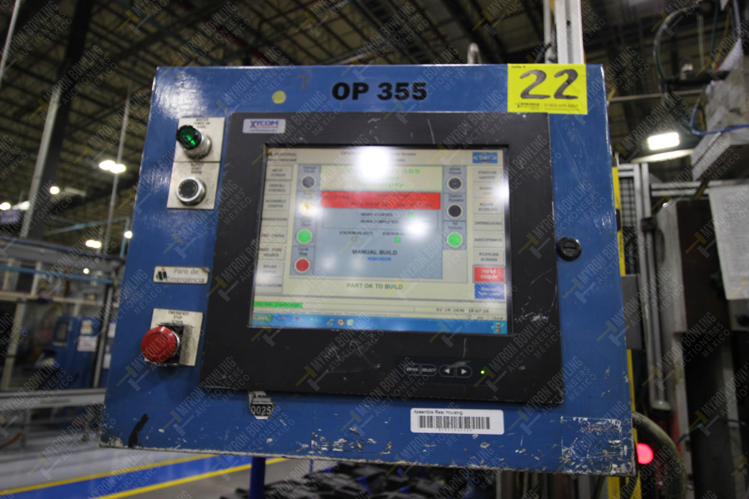 Estación semiautomática para operación 355A, contiene: Prensa en estructura de placa de acero - Image 34 of 36