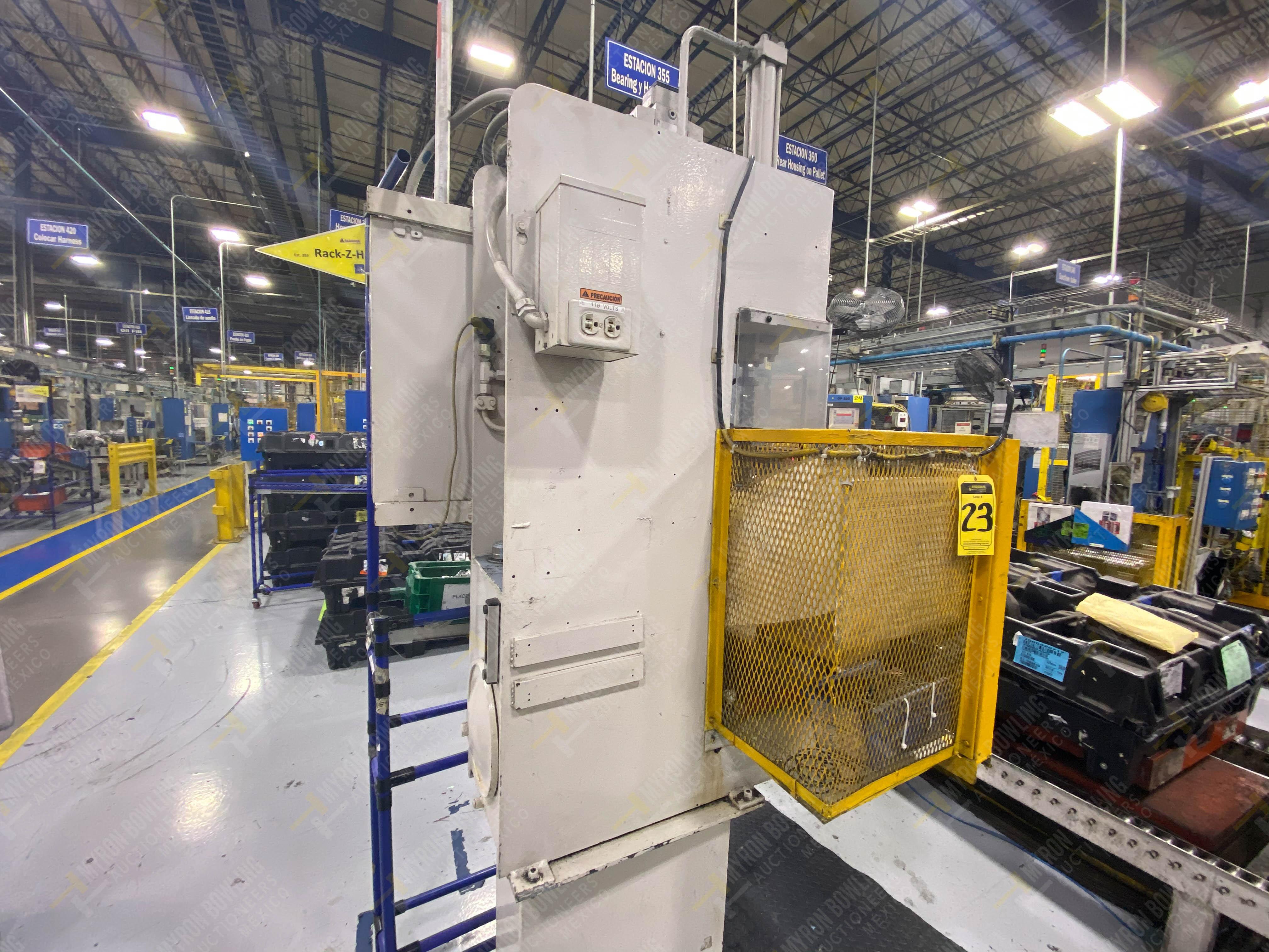 Estación semiautomática para operación 355B, contiene: Prensa tipo cuello de ganso - Image 8 of 21