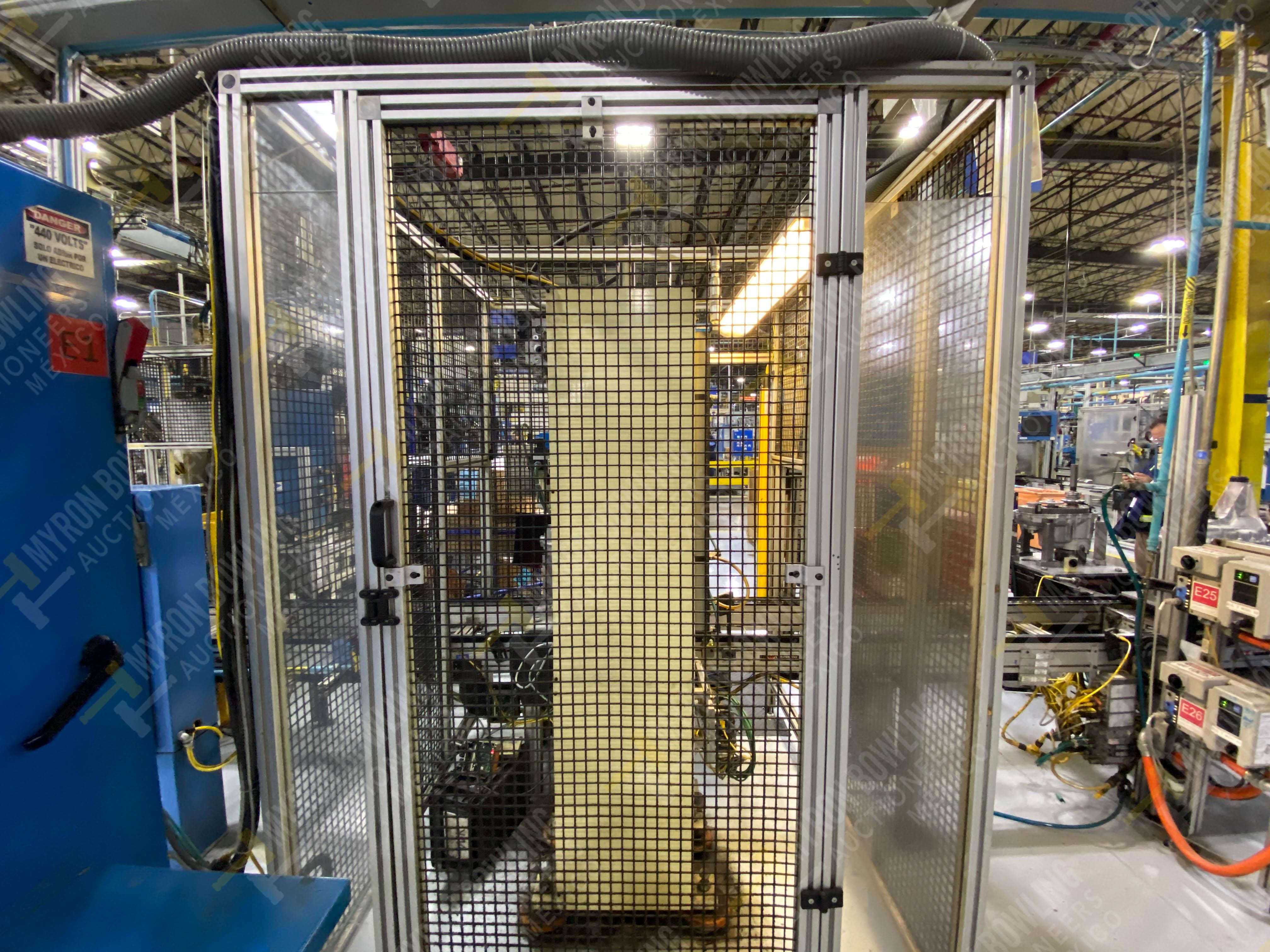 Estación manual para operación 383, contiene: Prensa marca PROMESS en estructura de placa de acero - Image 6 of 27