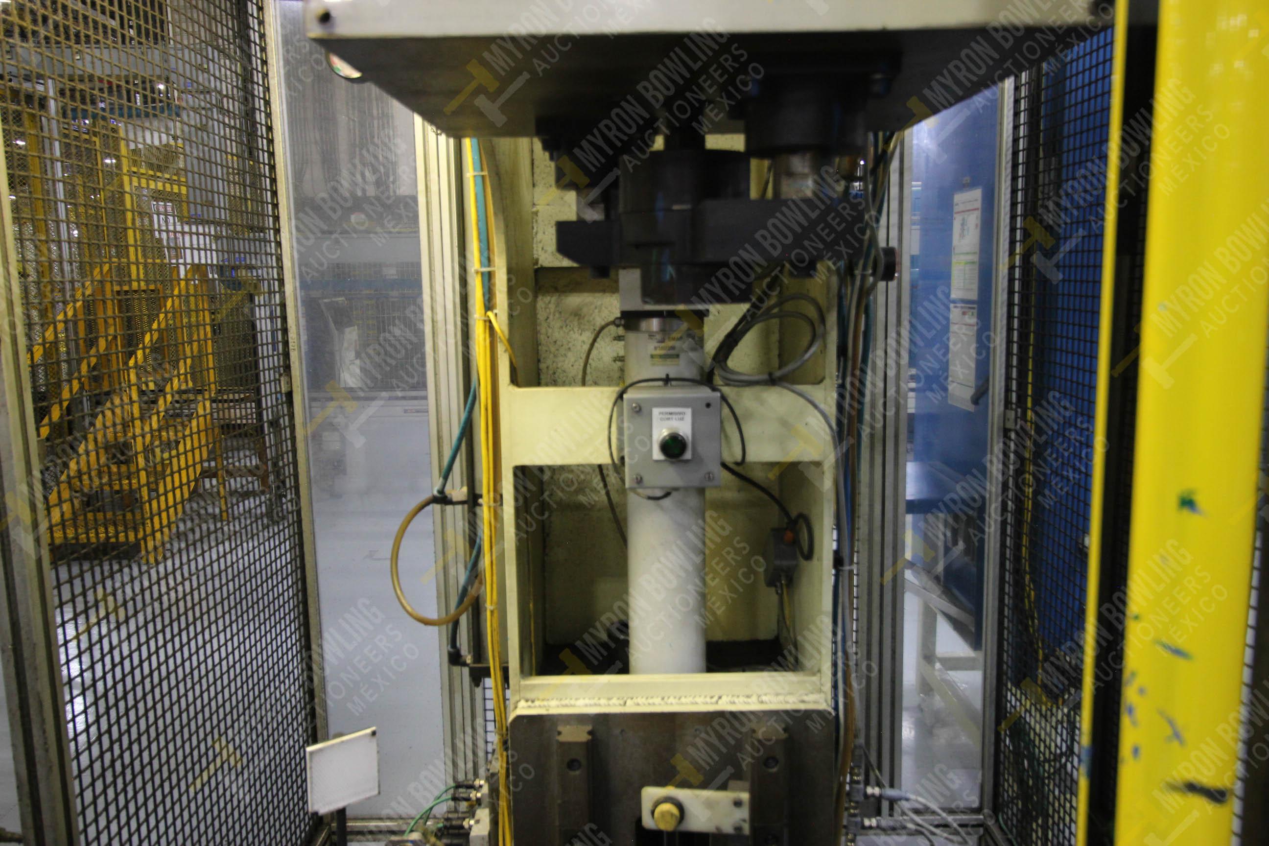 Estación manual para operación 383, contiene: Prensa marca PROMESS en estructura de placa de acero - Image 15 of 27