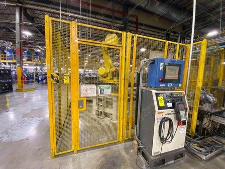 Robot con capacidad de carga de 50-100 Kg, controlador de robot y teach pendant - Image 12 of 22